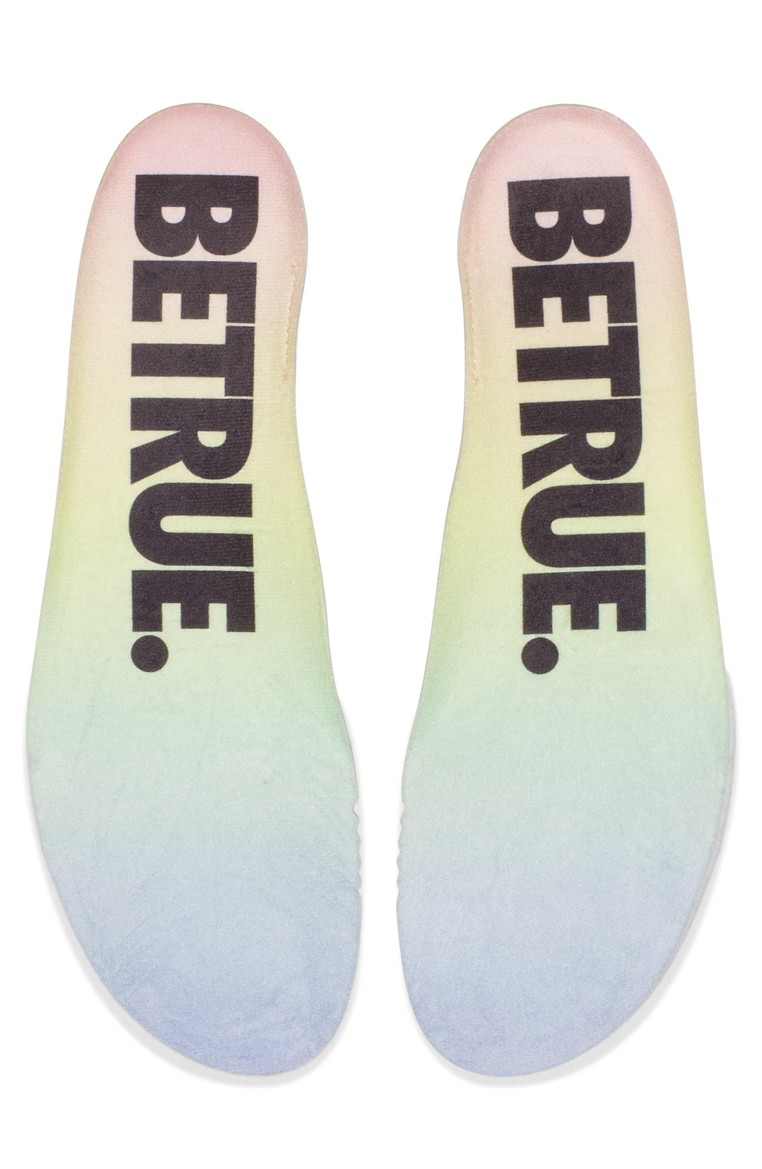 Nordstrom x Nike Zoom Fly BETRUE Running Shoe,                             Alternate thumbnail 7, color,                             White/ Black/ Palest Purple