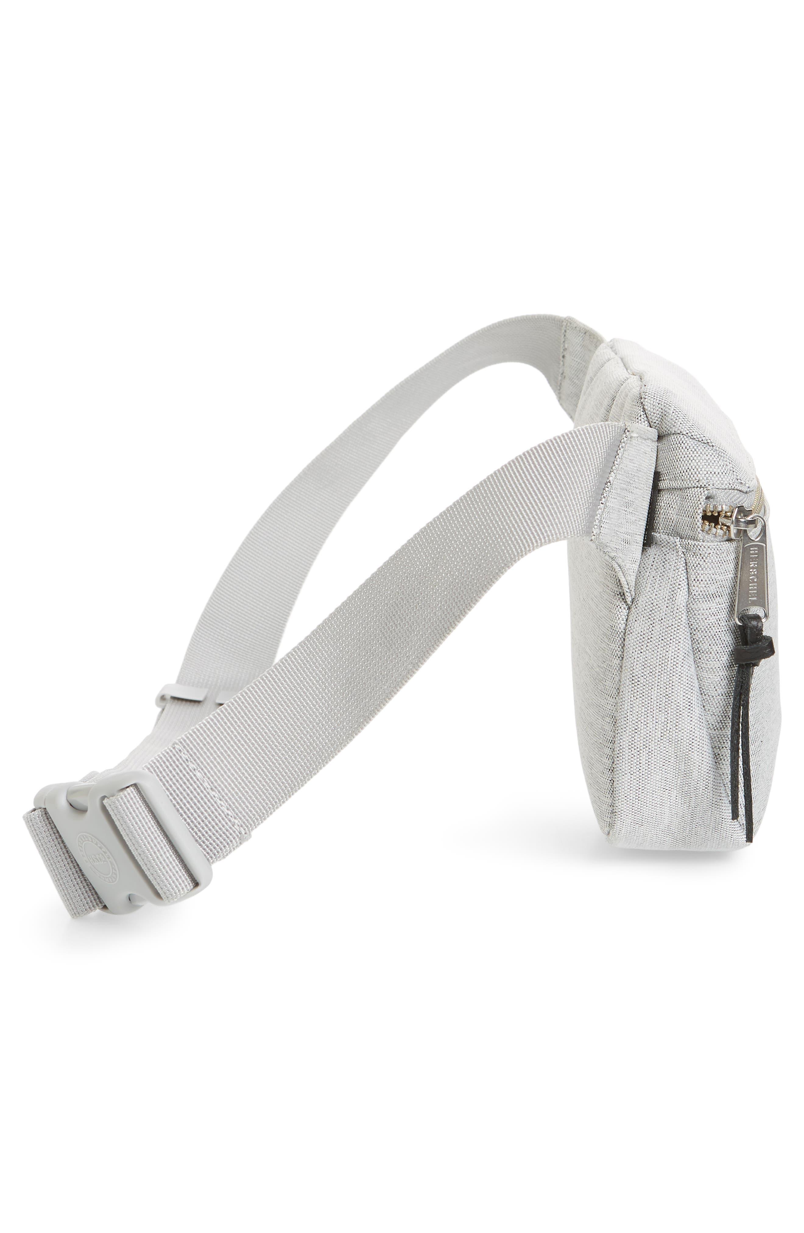 Fifteen Belt Bag,                             Alternate thumbnail 5, color,                             Light Grey