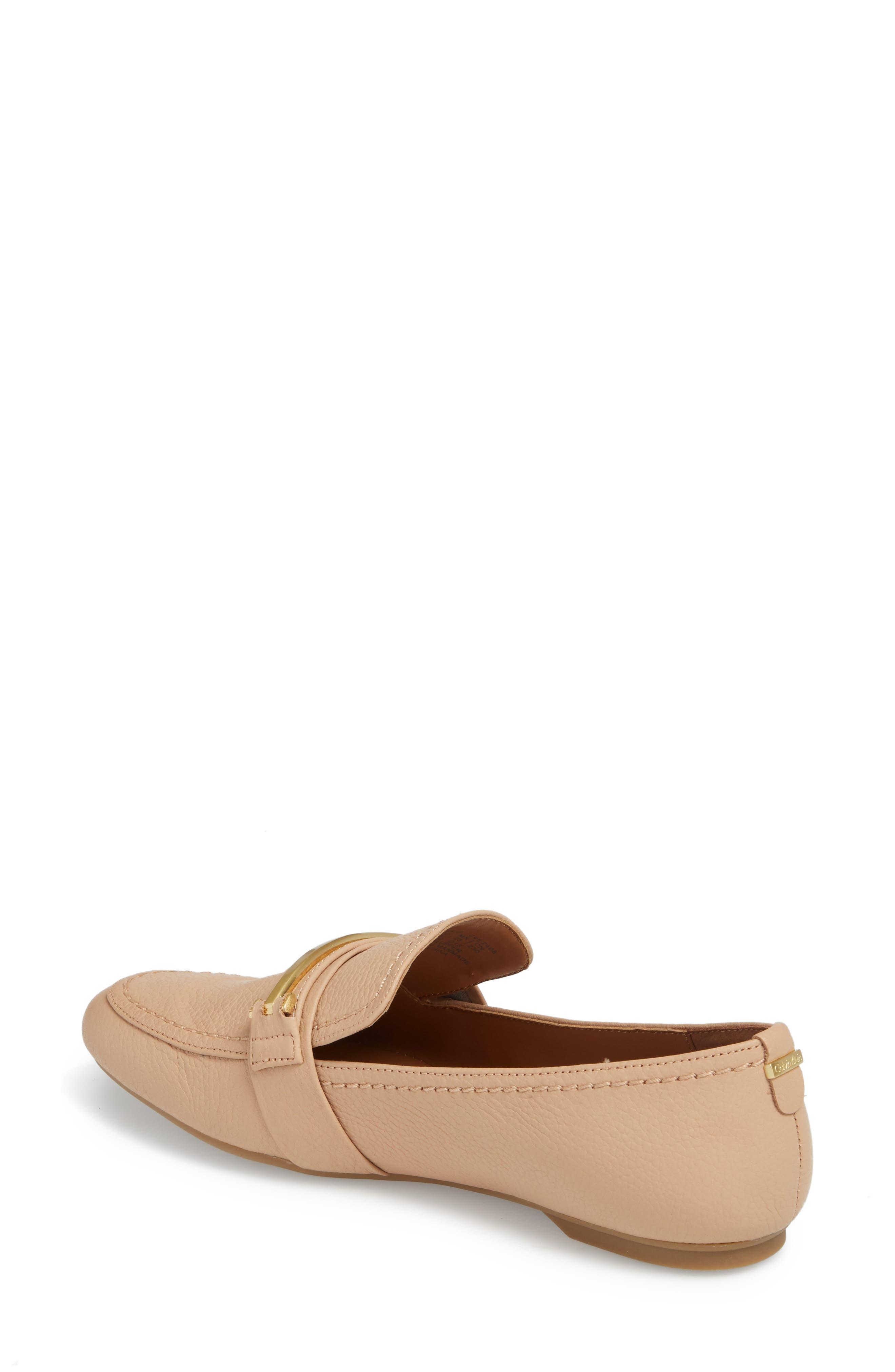 Orianna Loafer,                             Alternate thumbnail 2, color,                             Desert Sand Leather