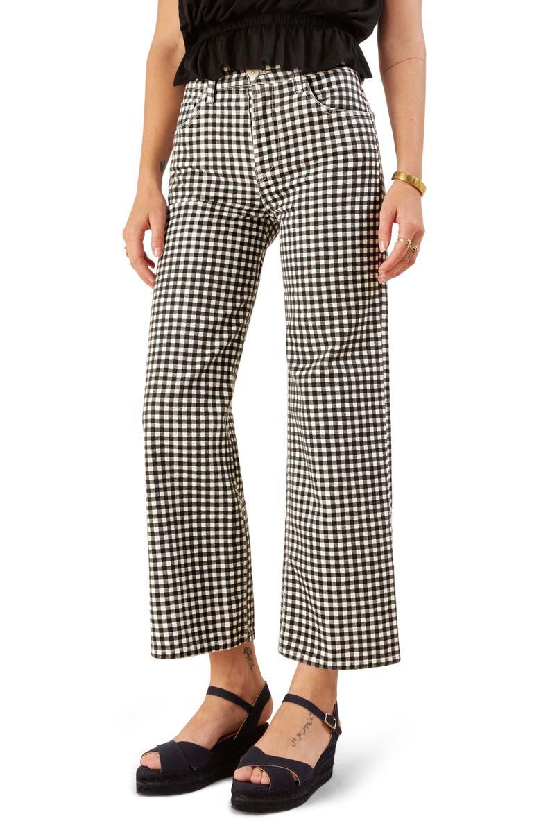 Fawcett High Waist Crop Jeans