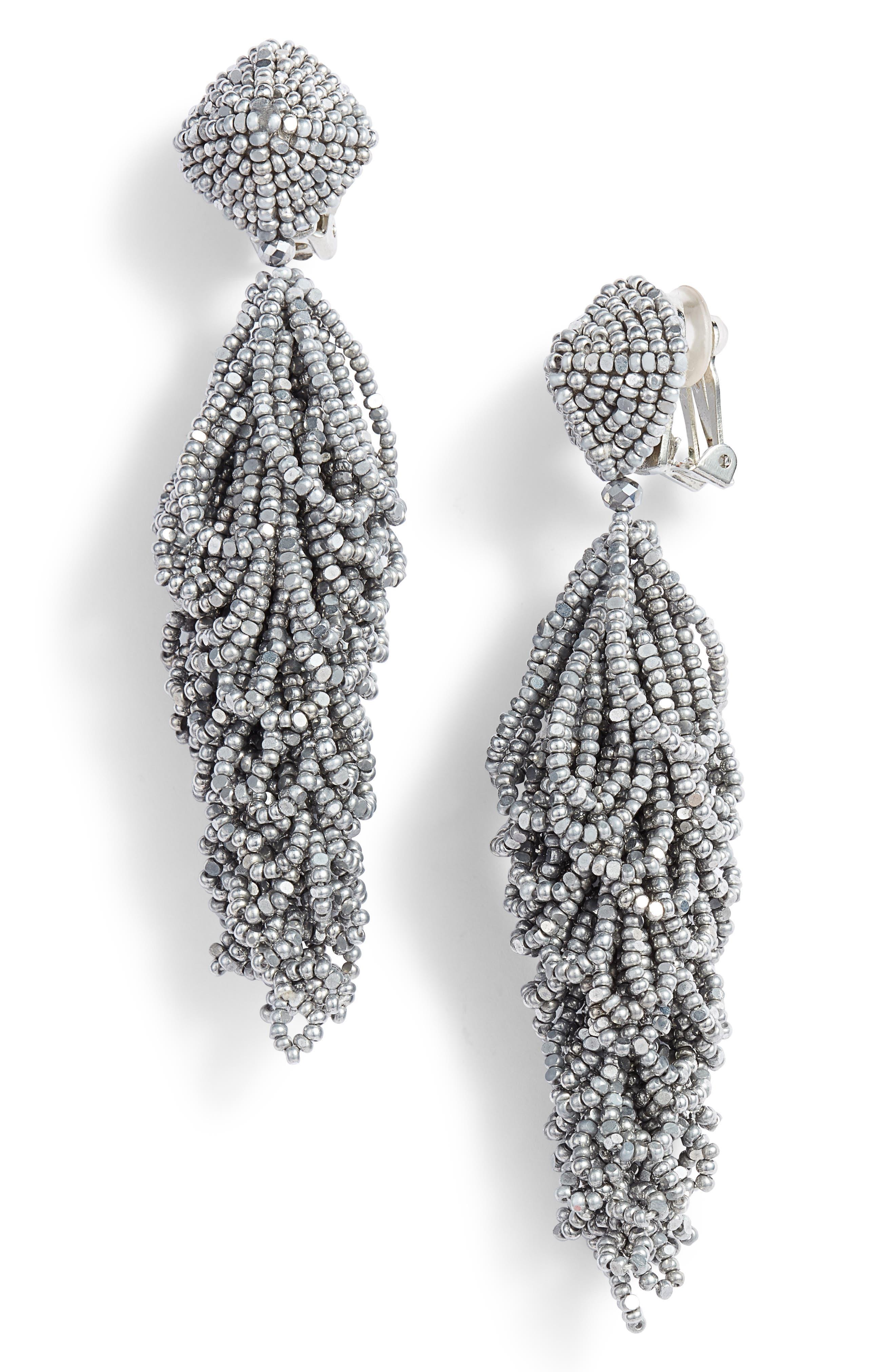 Lulus Earrings,                             Main thumbnail 1, color,                             Silver