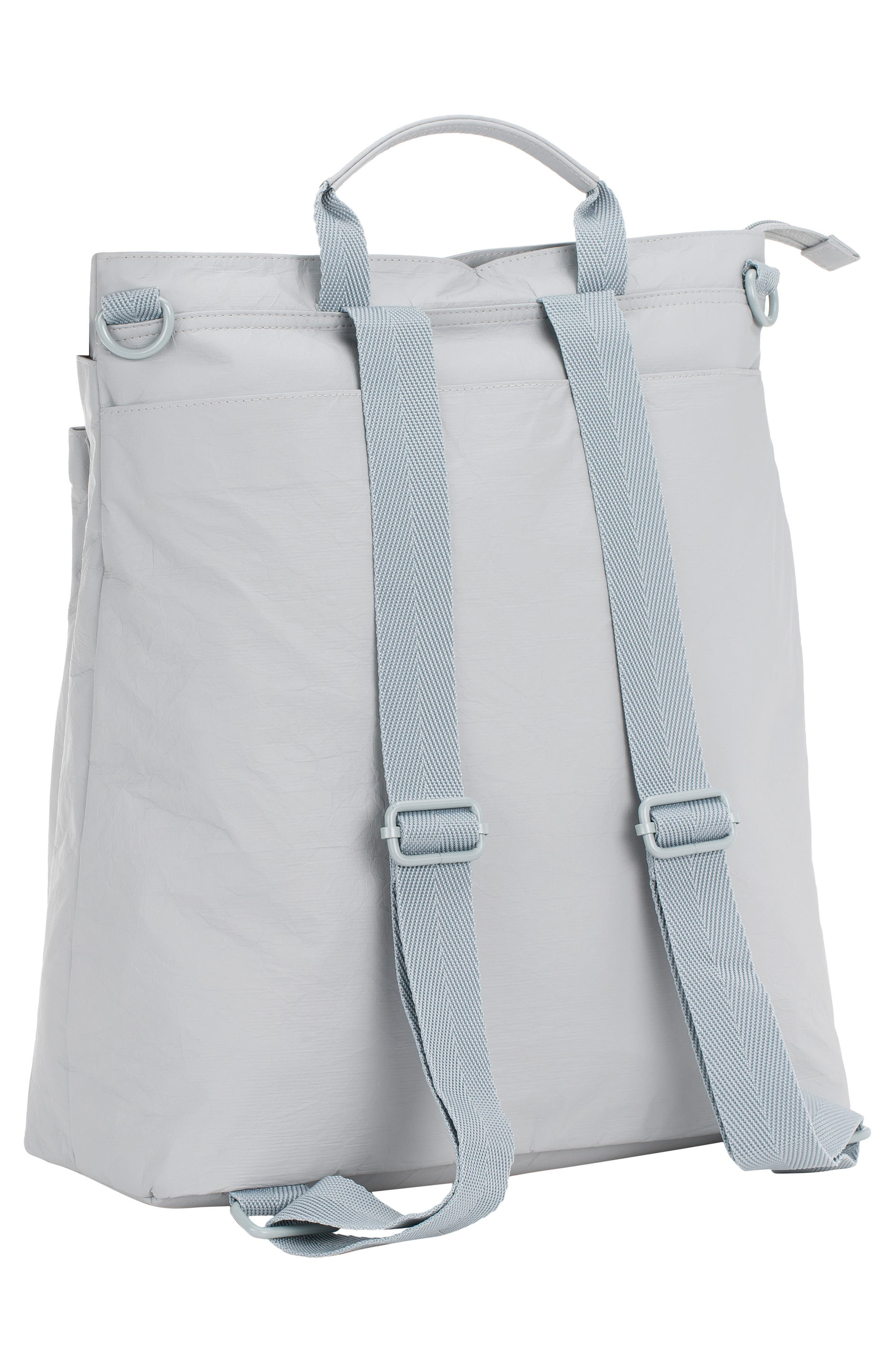 The Green Label Tyve Diaper Backpack,                             Alternate thumbnail 2, color,                             Grey