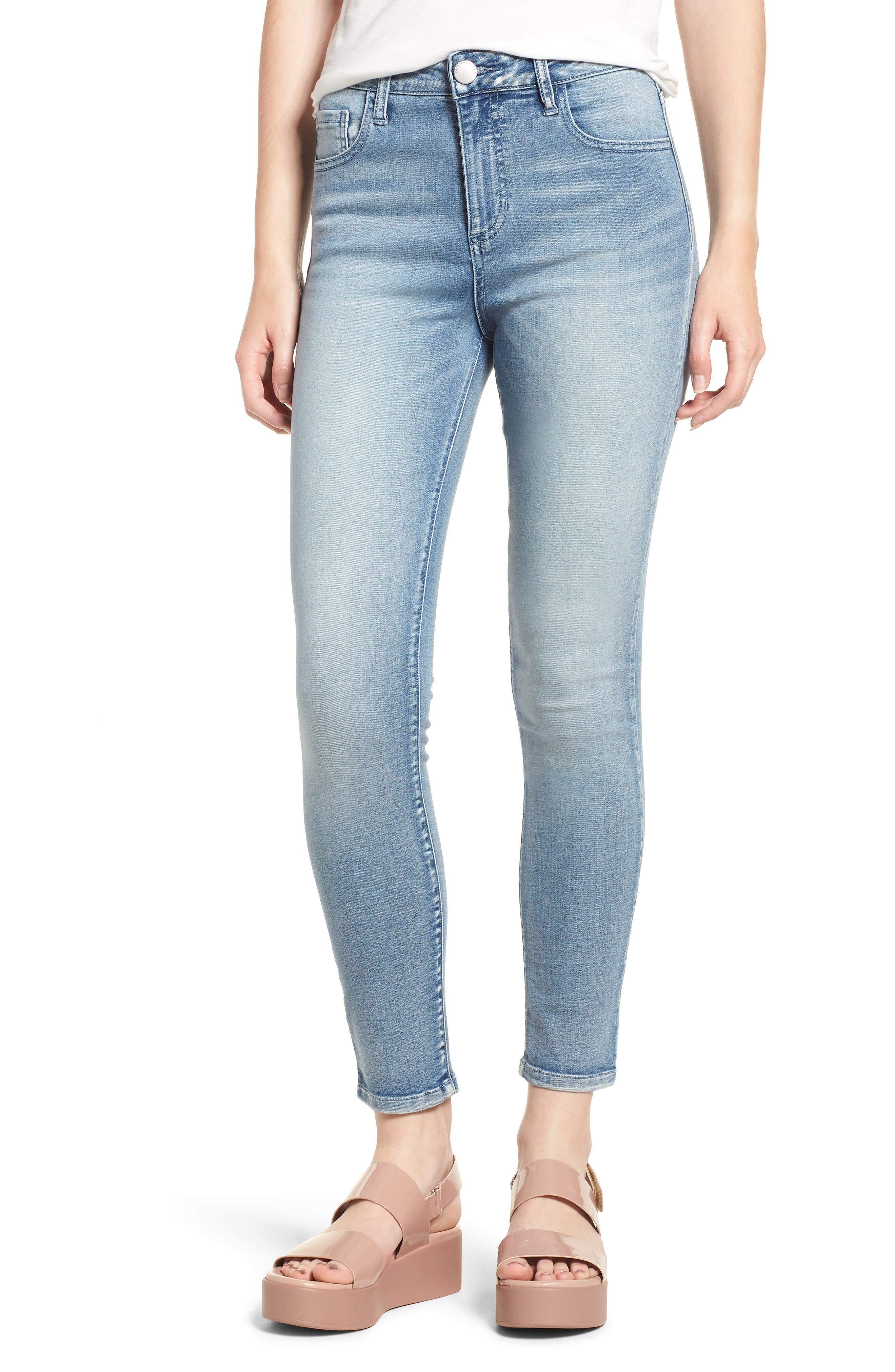 Ankle Skinny Jeans,                             Main thumbnail 1, color,                             Justice