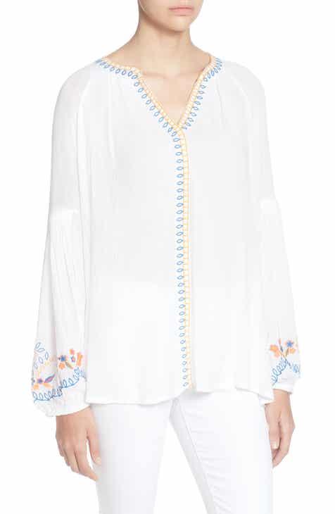 93b5fc9fde6 Catherine Catherine Malandrino Cabana Embroidery Blouse