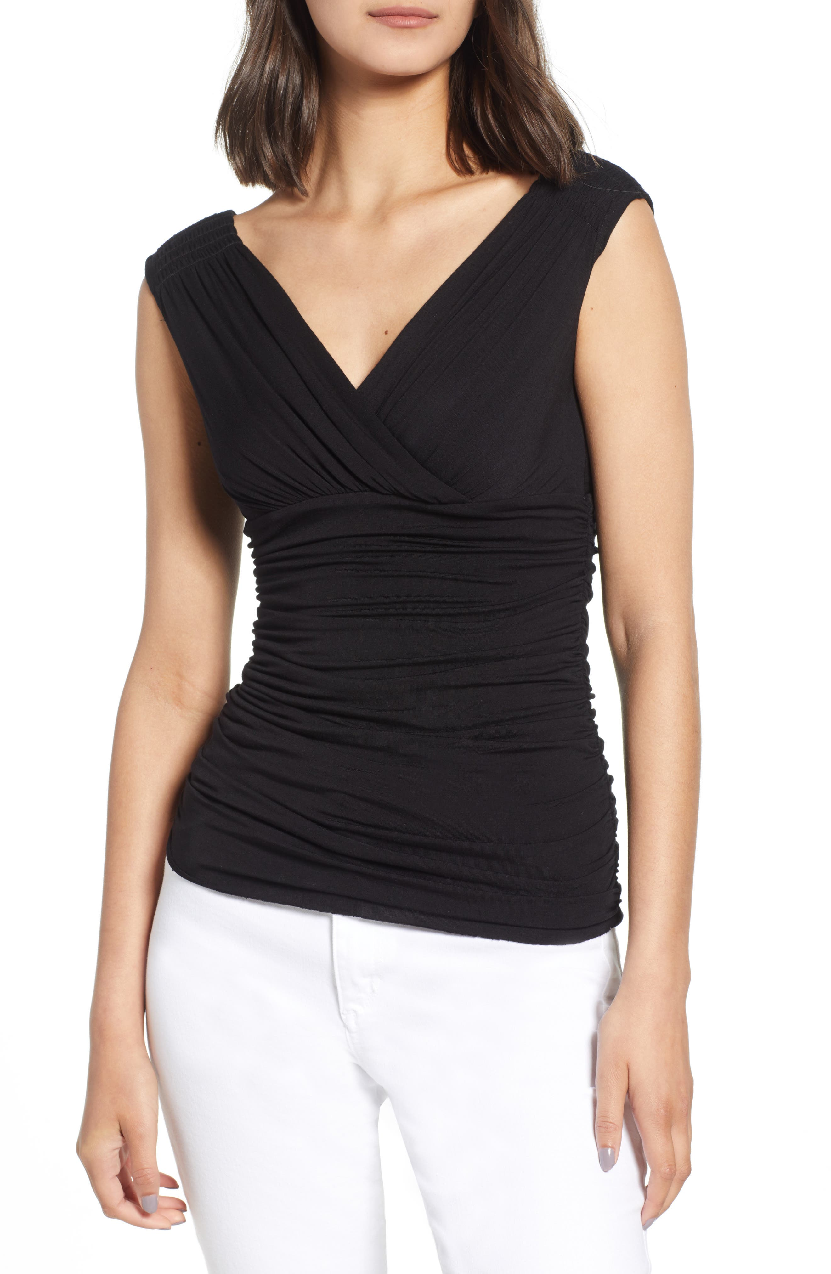 BAILEY44 TROIKA RUCHED TOP
