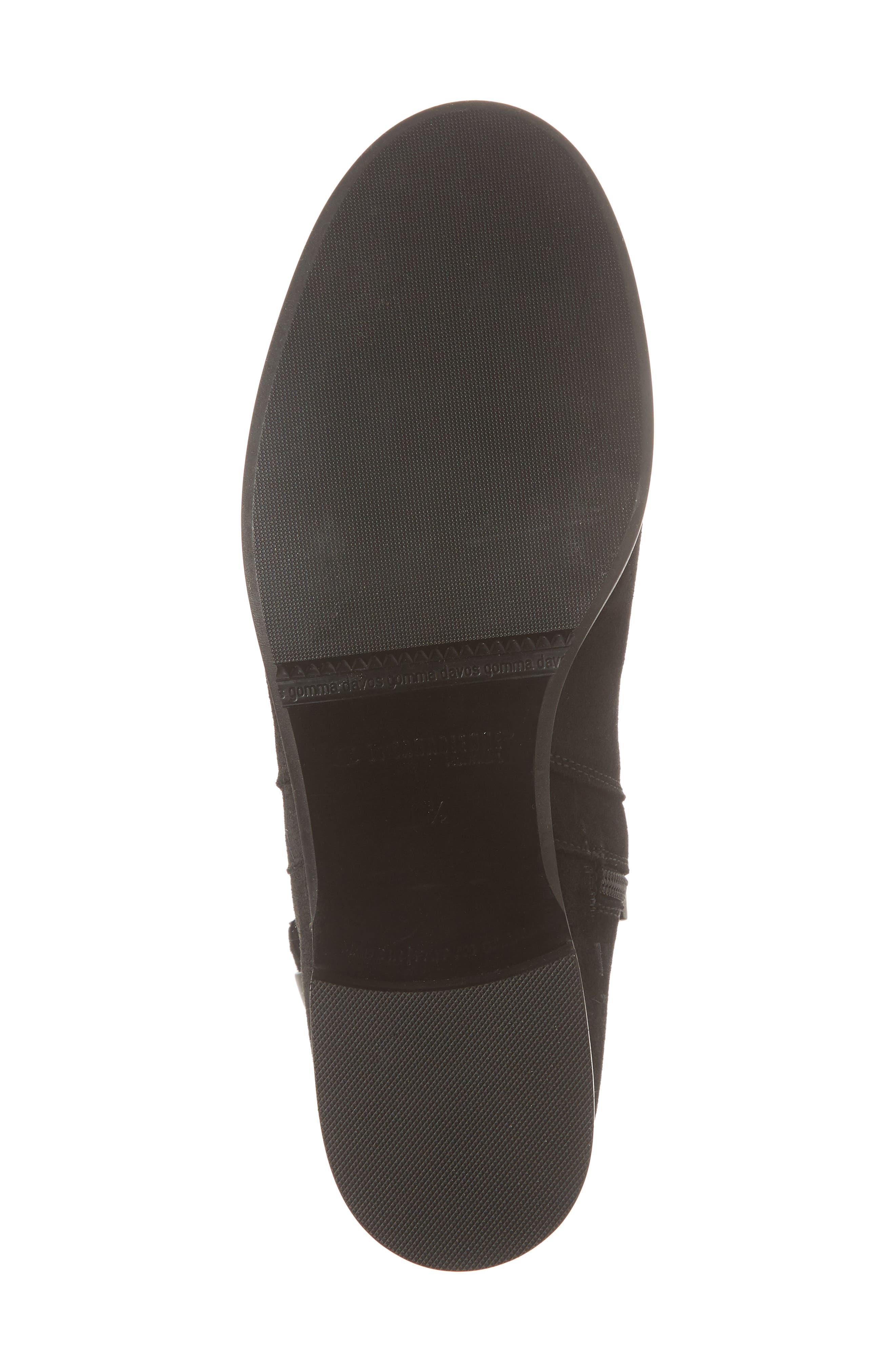 Sicilia Waterproof Boot,                             Alternate thumbnail 6, color,                             Black Suede