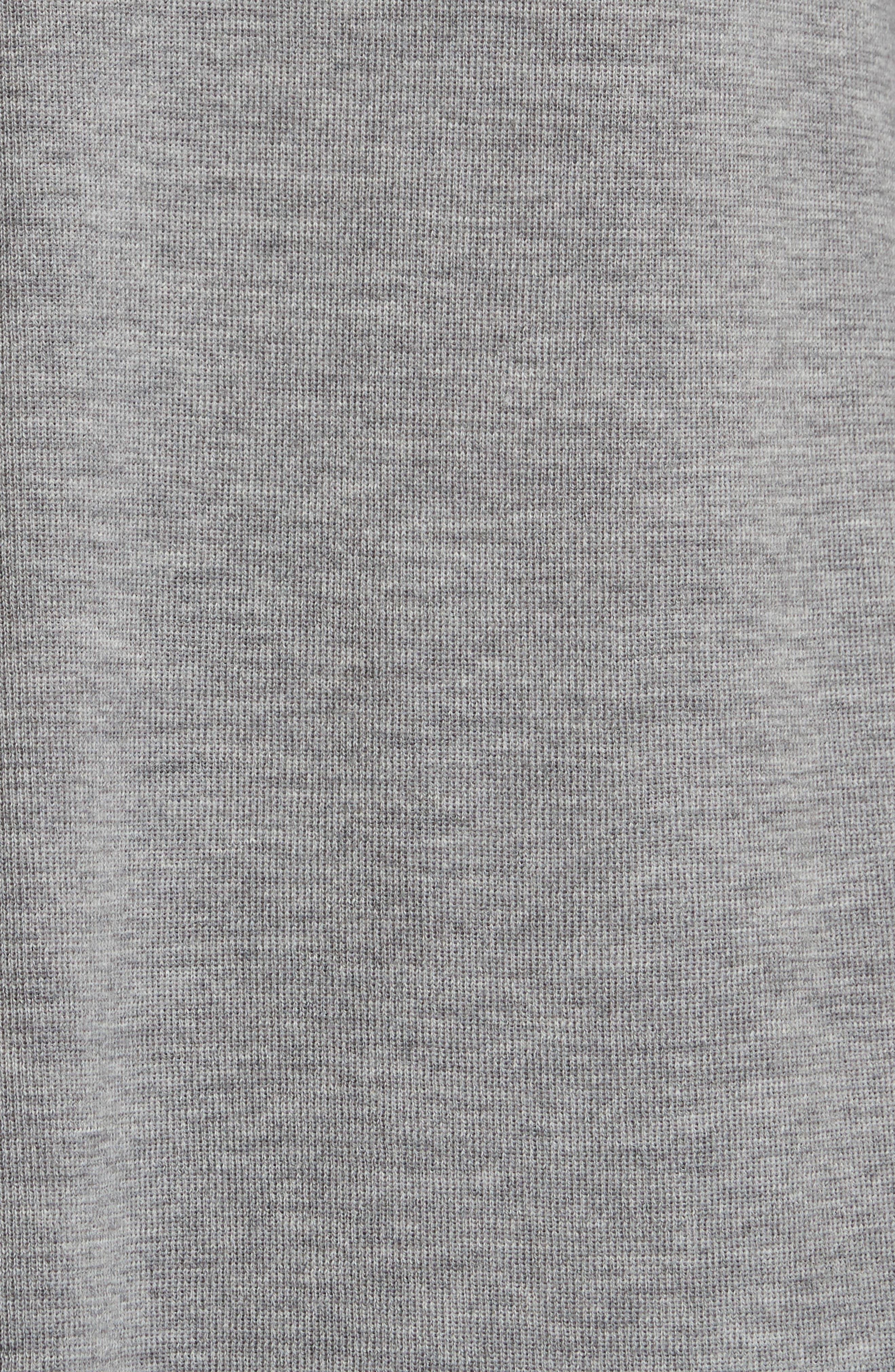 Merino Straight Long Cardigan,                             Alternate thumbnail 3, color,                             Moon