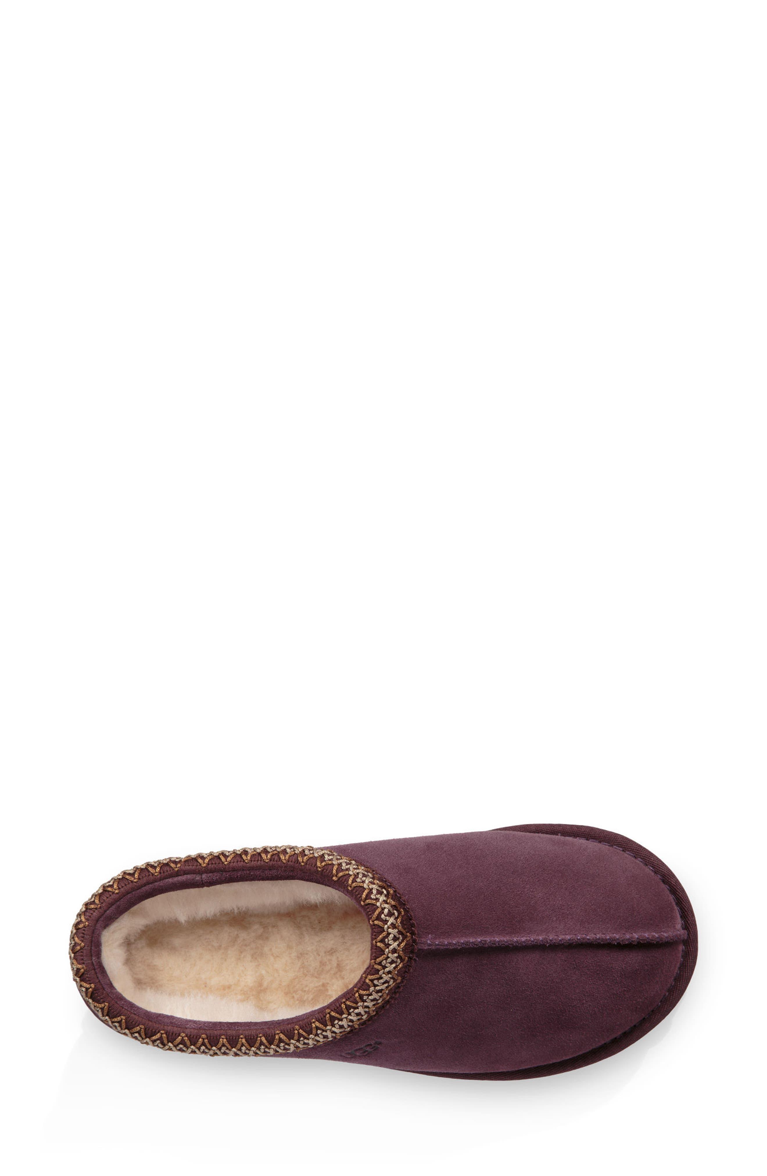 'Tasman' Slipper,                             Alternate thumbnail 5, color,                             Port Leather