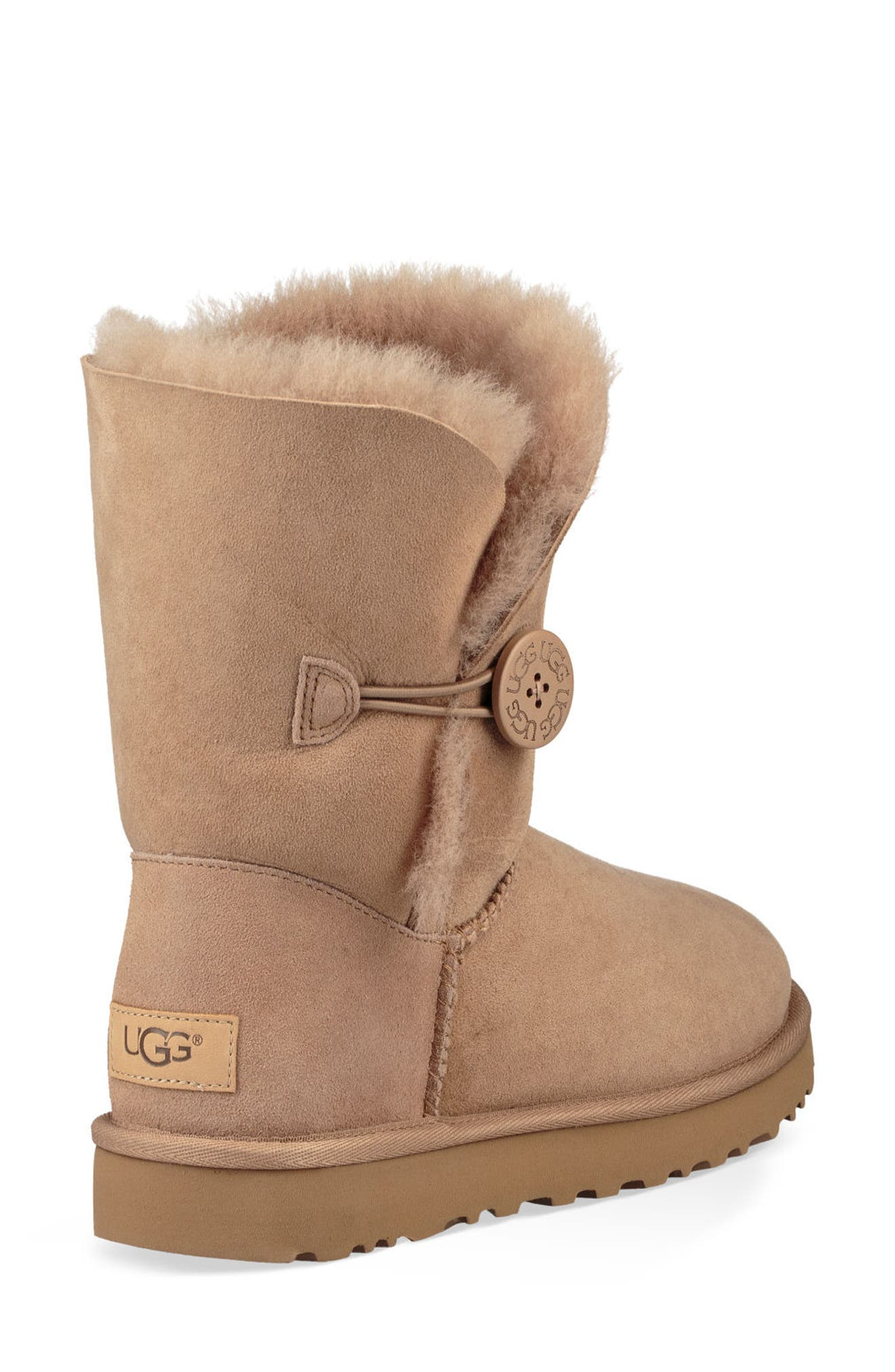 'Bailey Button II' Boot,                             Alternate thumbnail 2, color,                             Fawn Suede