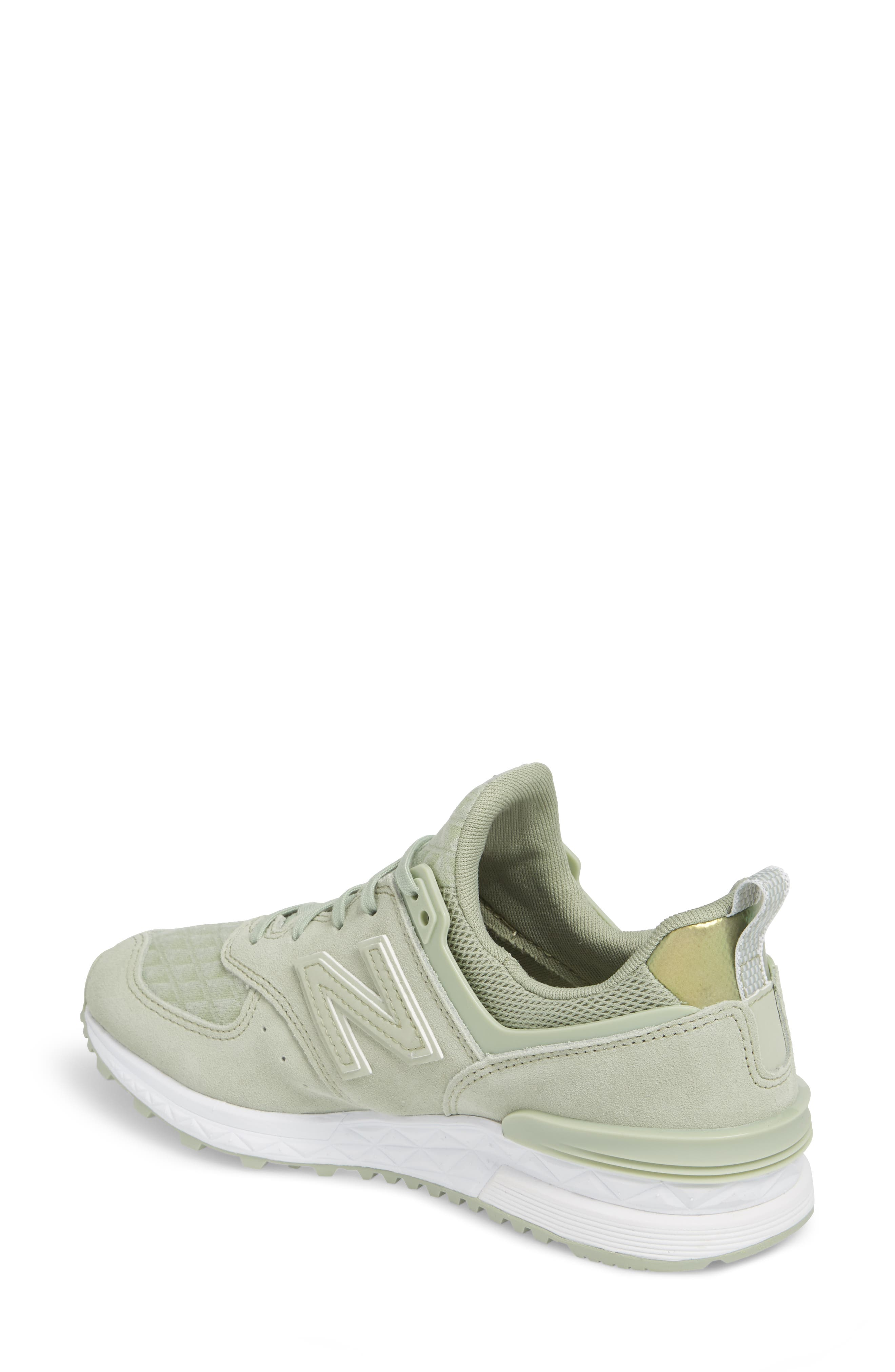 '574' Sneaker,                             Alternate thumbnail 2, color,                             Silver Mint