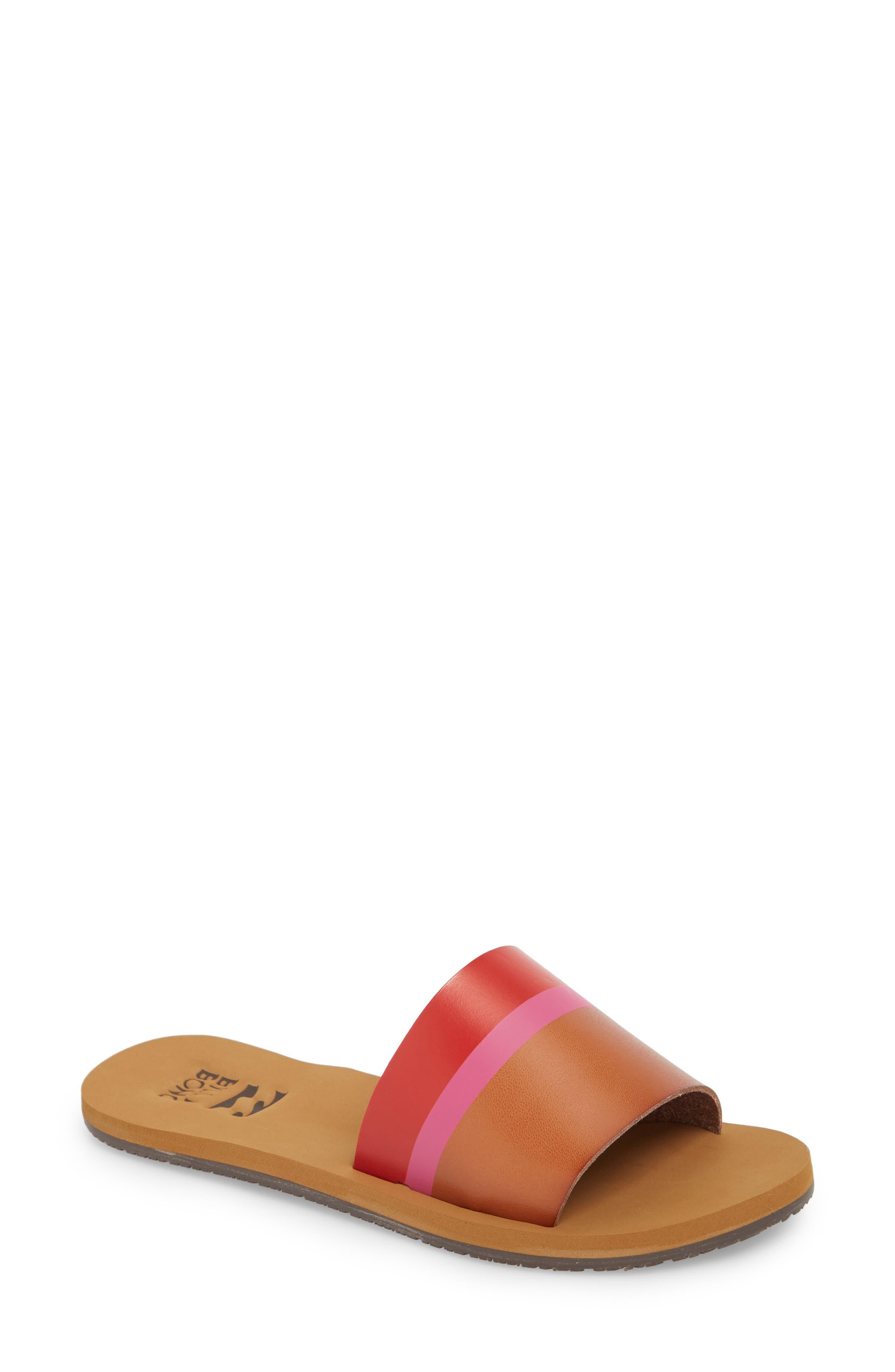 Slide Sandal,                             Main thumbnail 1, color,                             Multi