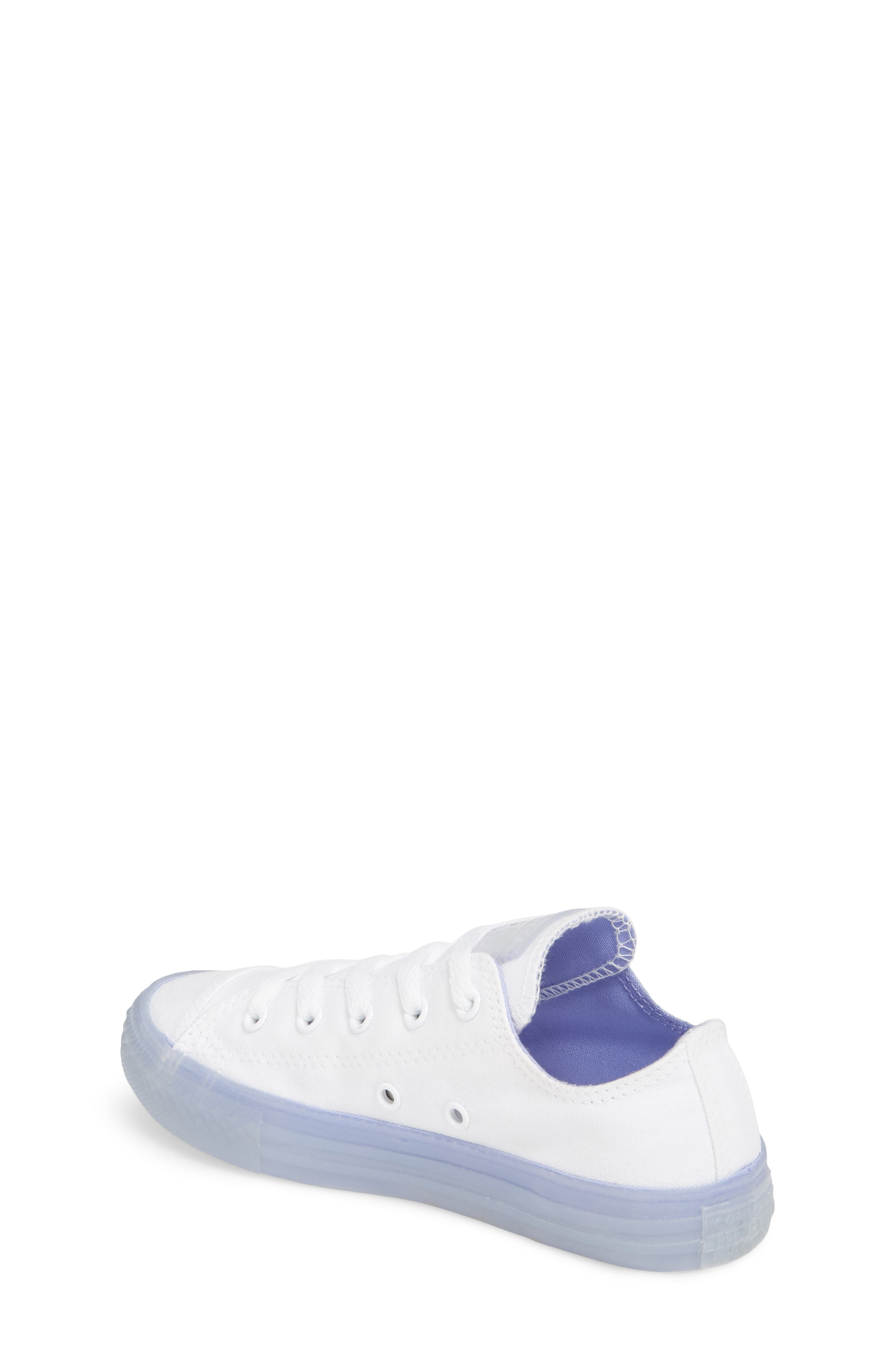 Chuck Taylor<sup>®</sup> All Star<sup>®</sup> Jelly Low Top Sneaker,                             Alternate thumbnail 2, color,                             Purple