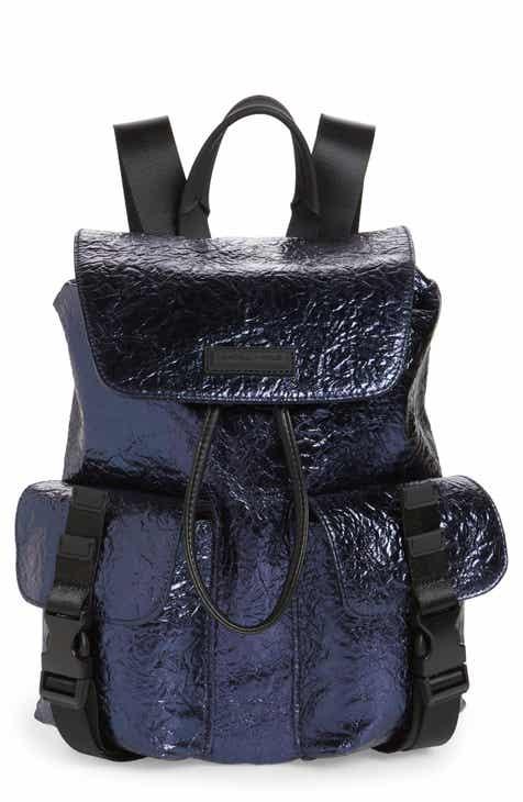KENDALL + KYLIE Parker Metallic Water Resistant Backpack 3698ea2b8a