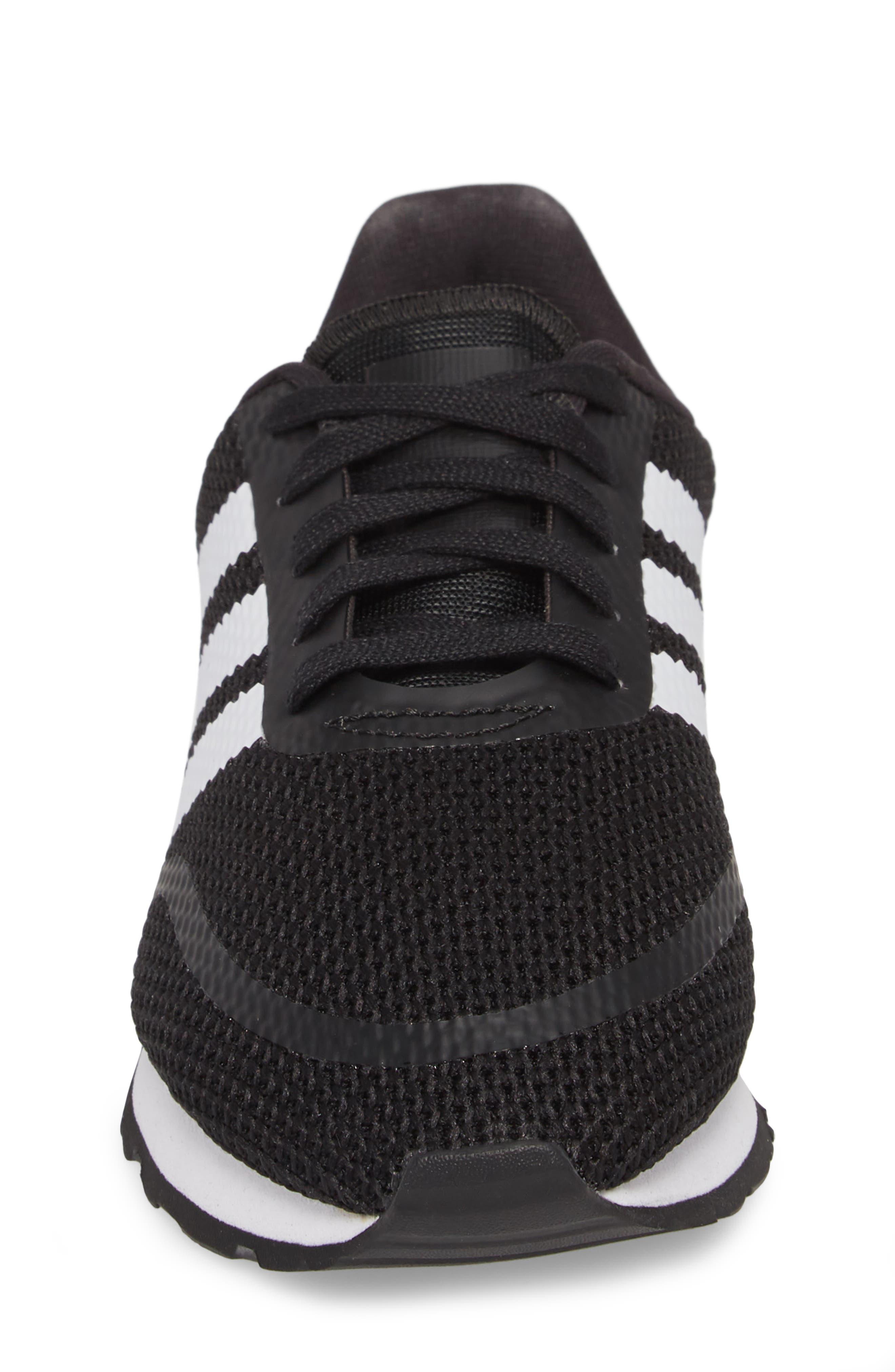 N-5923 Sneaker,                             Alternate thumbnail 4, color,                             Black/ White/ Black