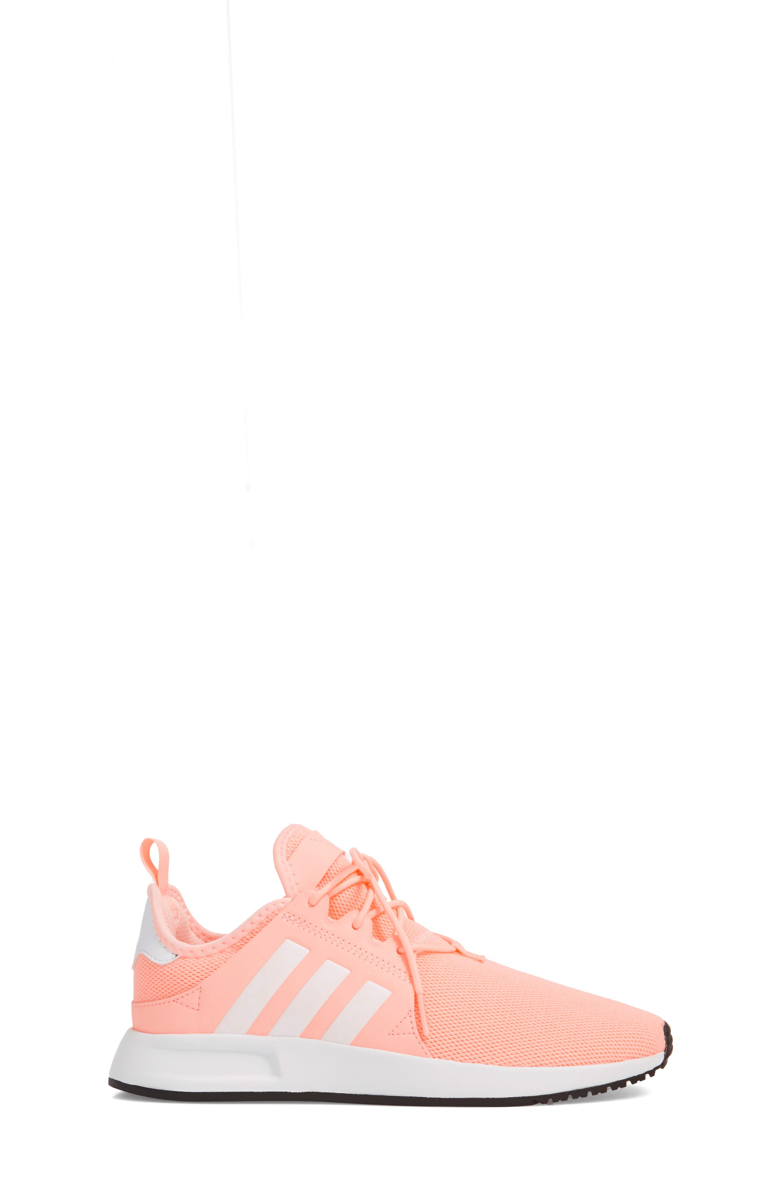 X_PLR Sneaker,                             Alternate thumbnail 4, color,                             Clear Orange/ White
