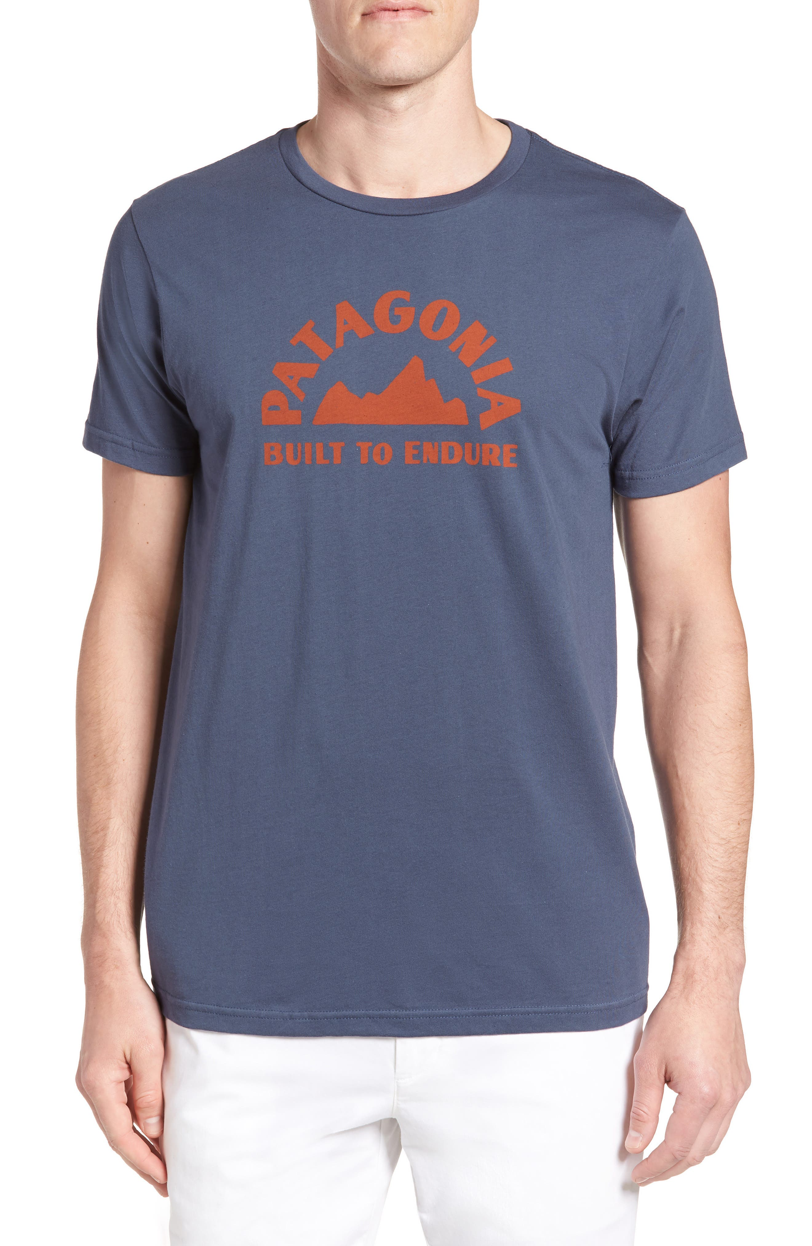 Geologers Organic Cotton T-Shirt,                         Main,                         color, Dolomite Blue