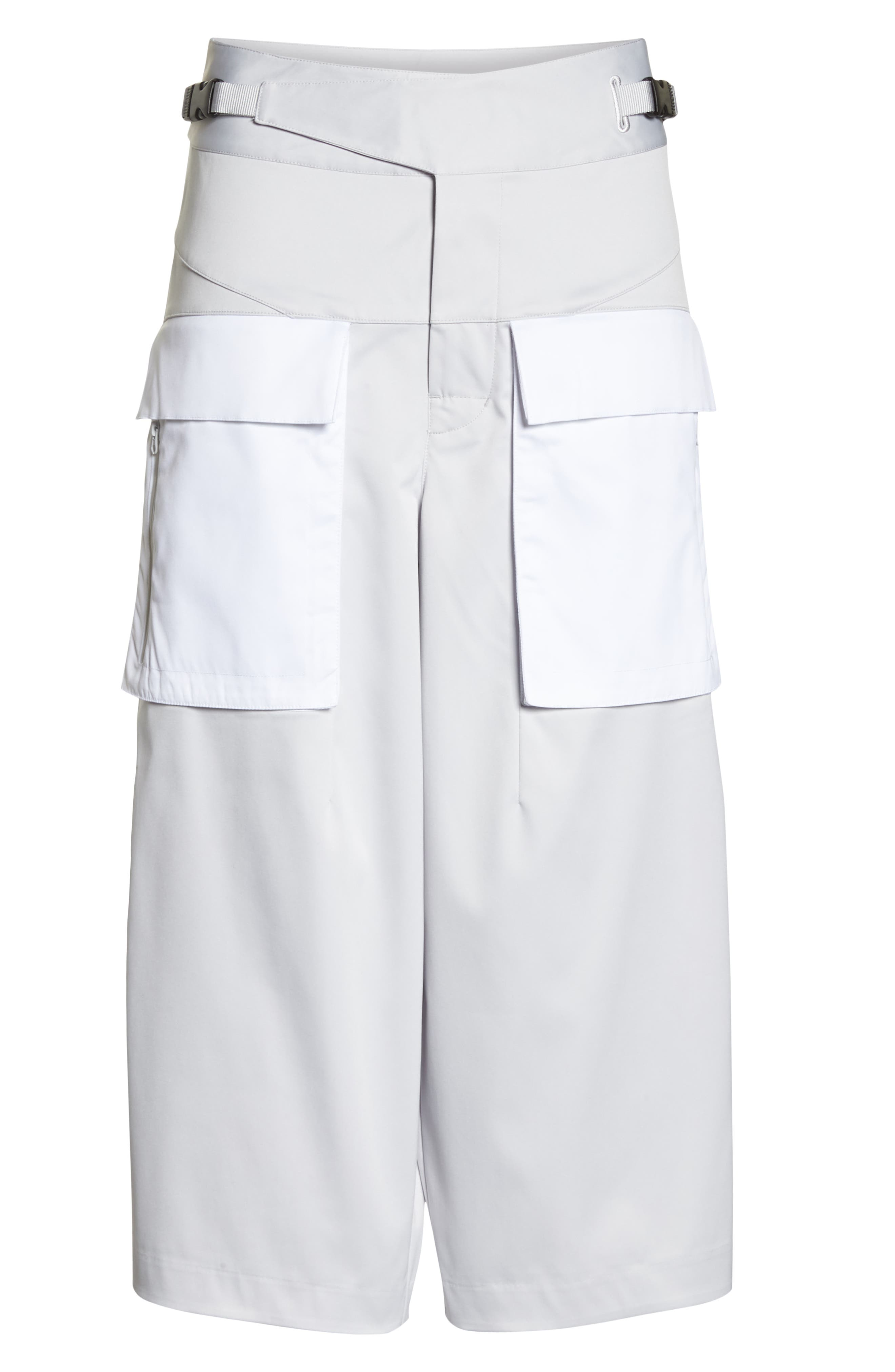 Utility Culottes,                             Alternate thumbnail 7, color,                             Vast Grey/ White/ Vast Grey