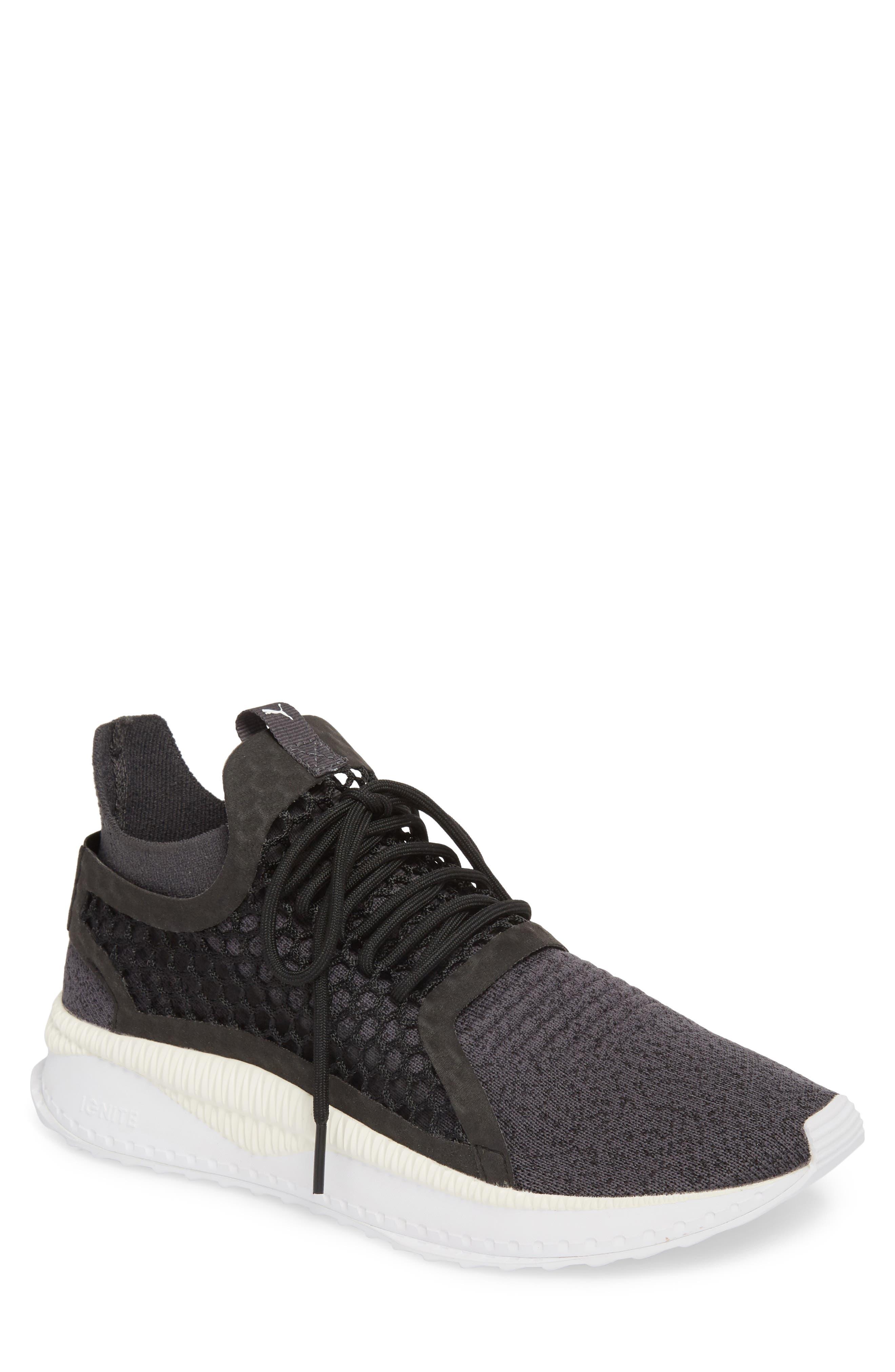 Tsugi Netfit V2 EvoKNIT Sneaker,                             Main thumbnail 1, color,                             Black/ Asphalt/ White