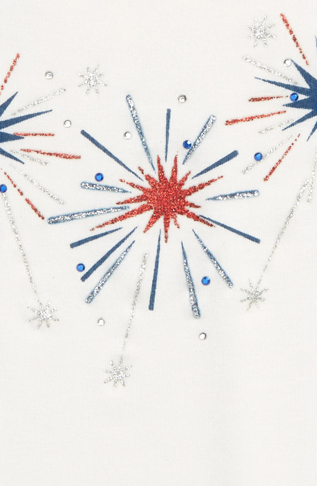Fireworks Tank,                             Alternate thumbnail 2, color,                             White