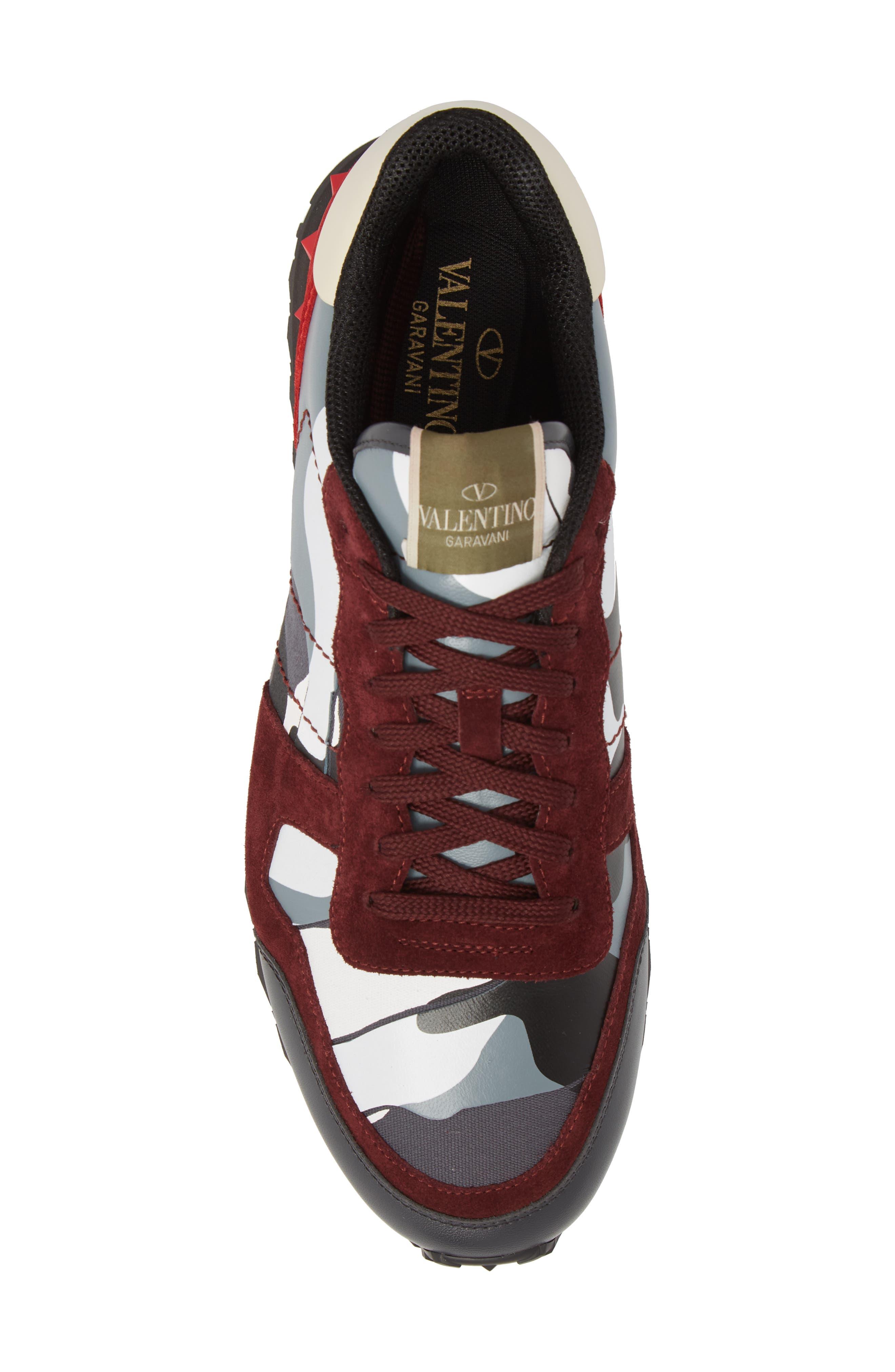 Camo Rockrunner Sneaker,                             Alternate thumbnail 2, color,                             Rubin/ Dark Grey