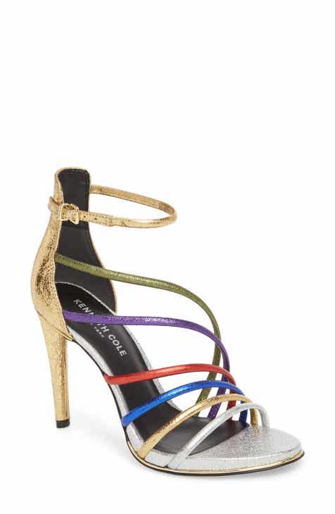 Kenneth Cole New York Barletta Asymmetrical Strappy Sandal (Women)