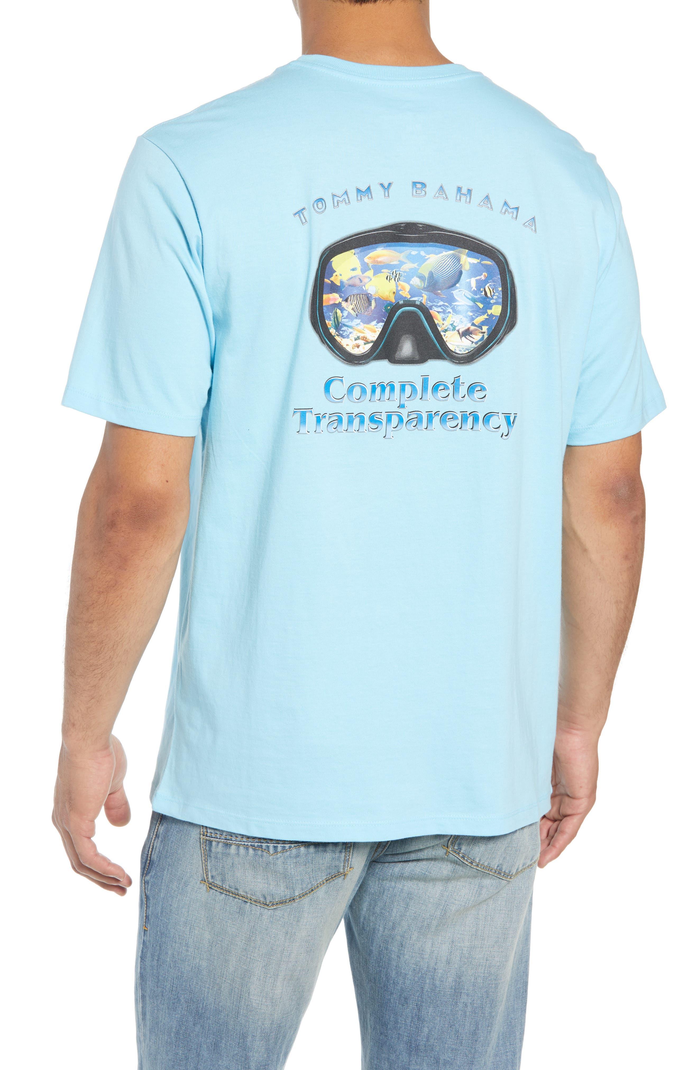 Complete Transparency T-Shirt,                             Alternate thumbnail 2, color,                             Bowtie Blue