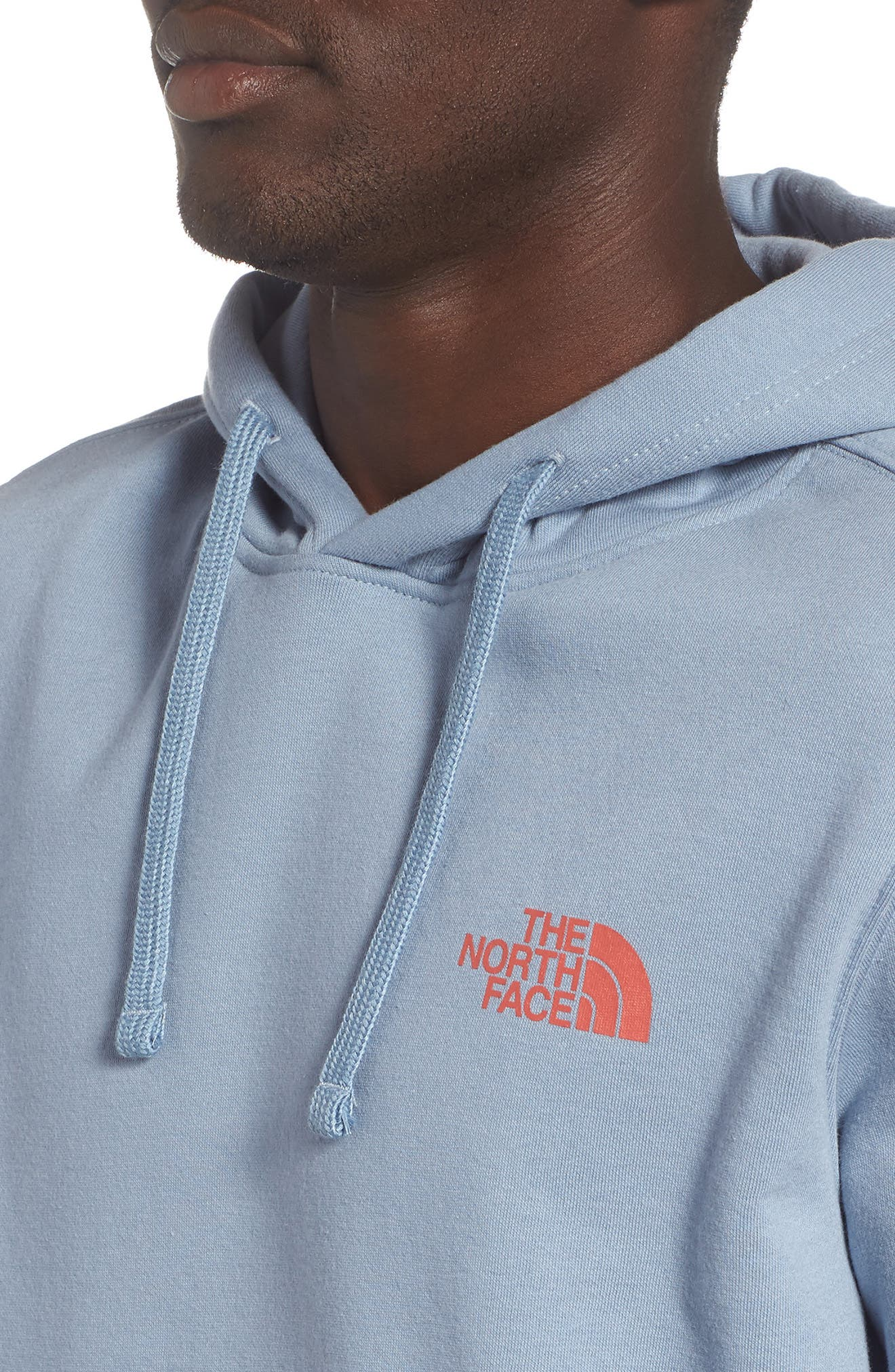 Red Box Hoodie,                             Alternate thumbnail 4, color,                             Gull Blue