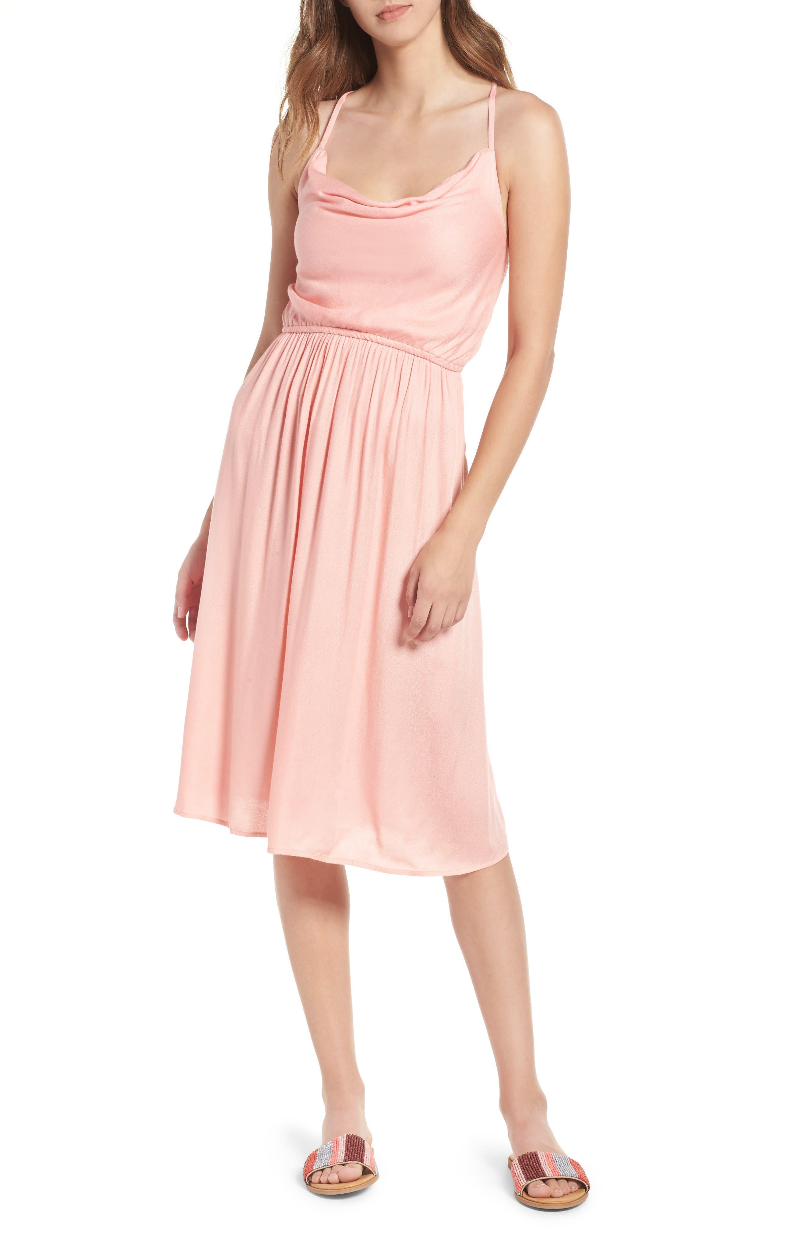Mystic Mama Dress,                         Main,                         color, Coral Haze