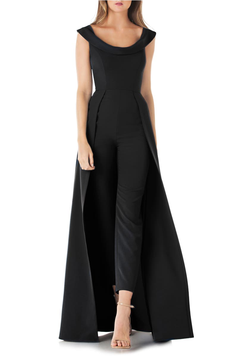 Jumpsuit Gown,                         Main,                         color, Black