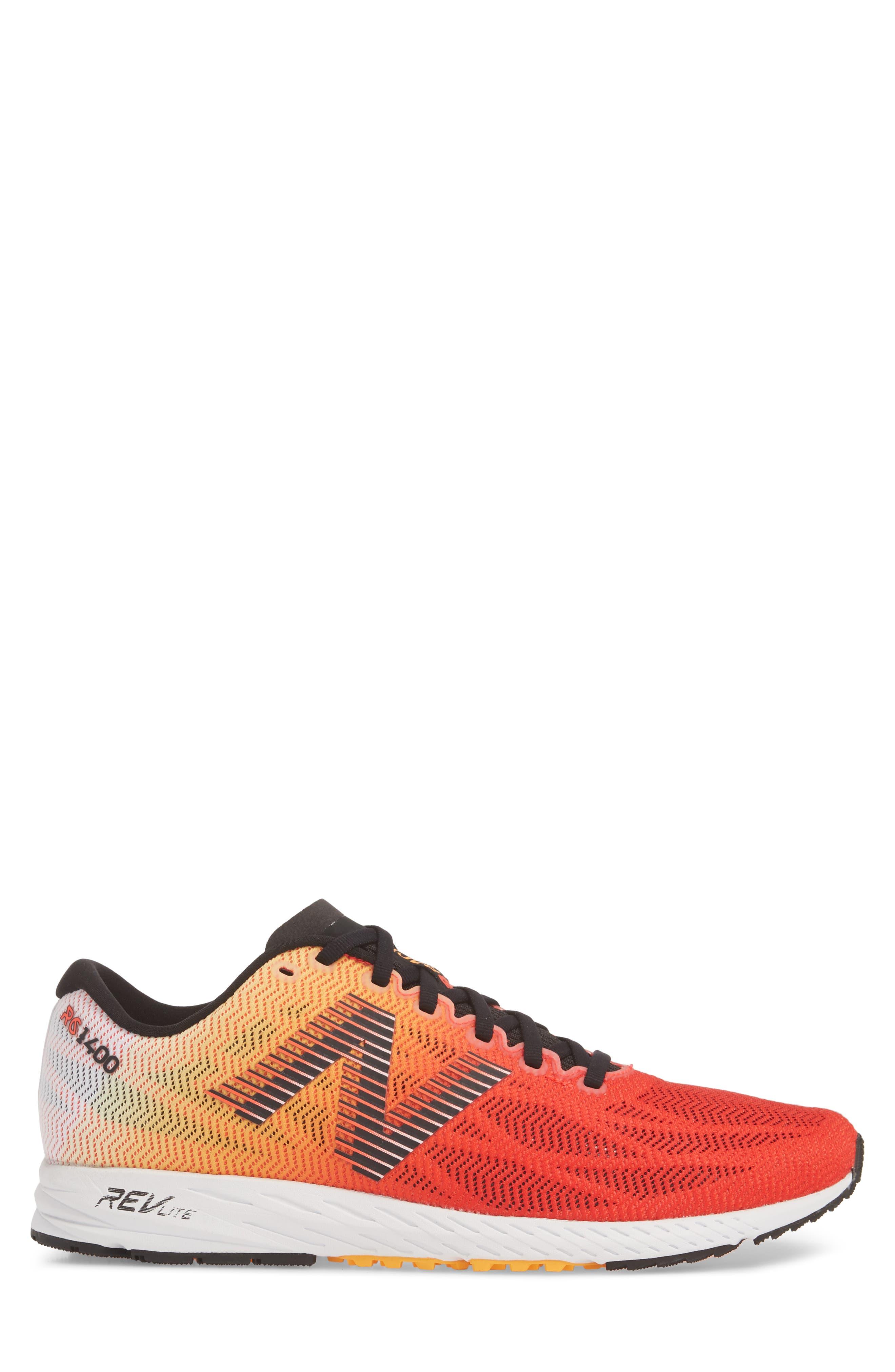 1400v6 Running Shoe,                             Alternate thumbnail 4, color,                             White Munsell