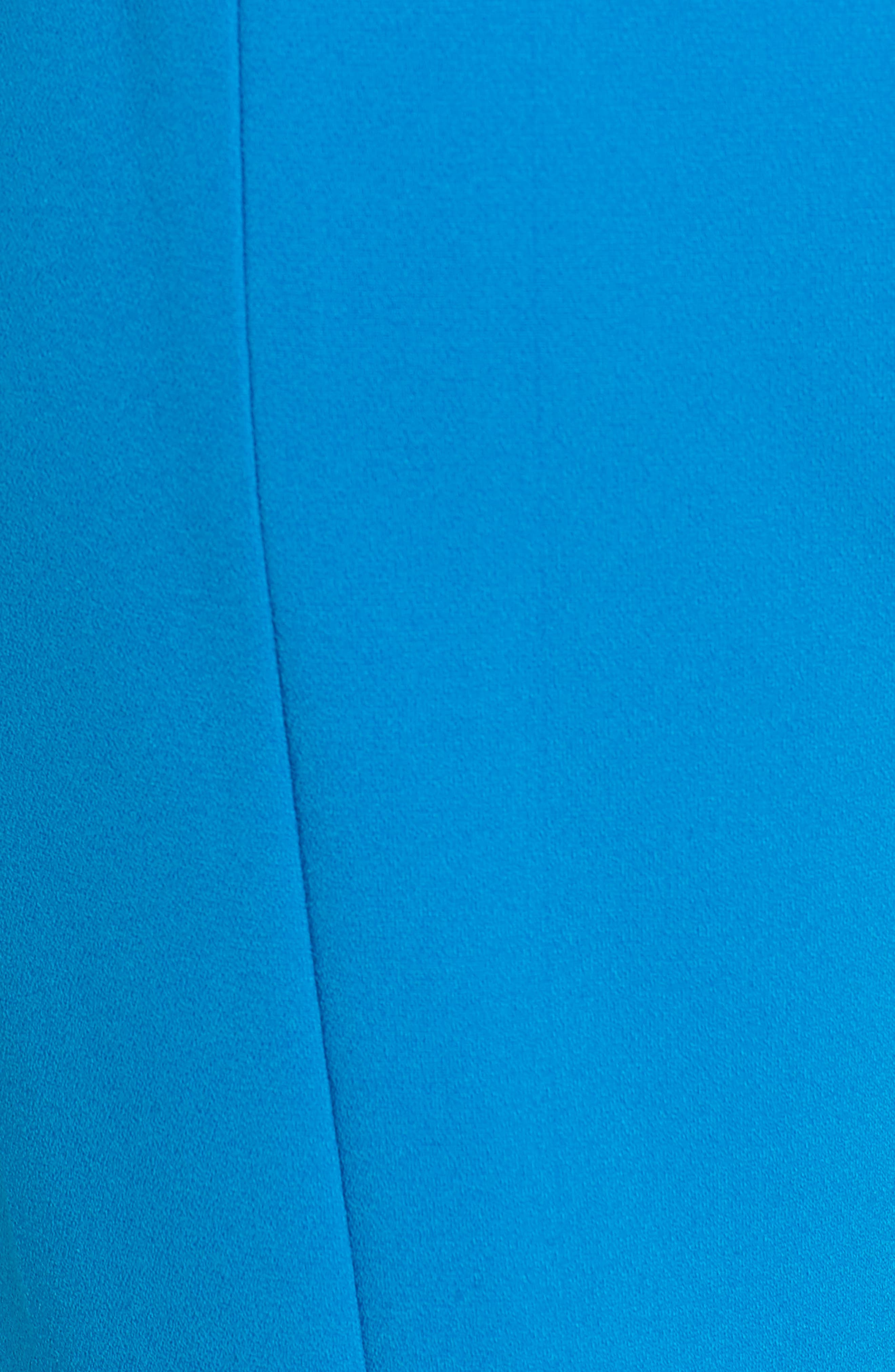 Clara Peg Belted Trousers,                             Alternate thumbnail 5, color,                             Cobalt
