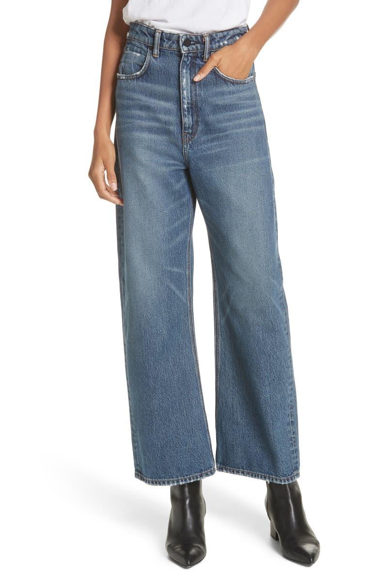 Crush Wide Leg Jeans