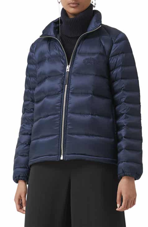 73f5cc3fc44 Burberry Smethwick Archive Logo Quilted Down Puffer Coat