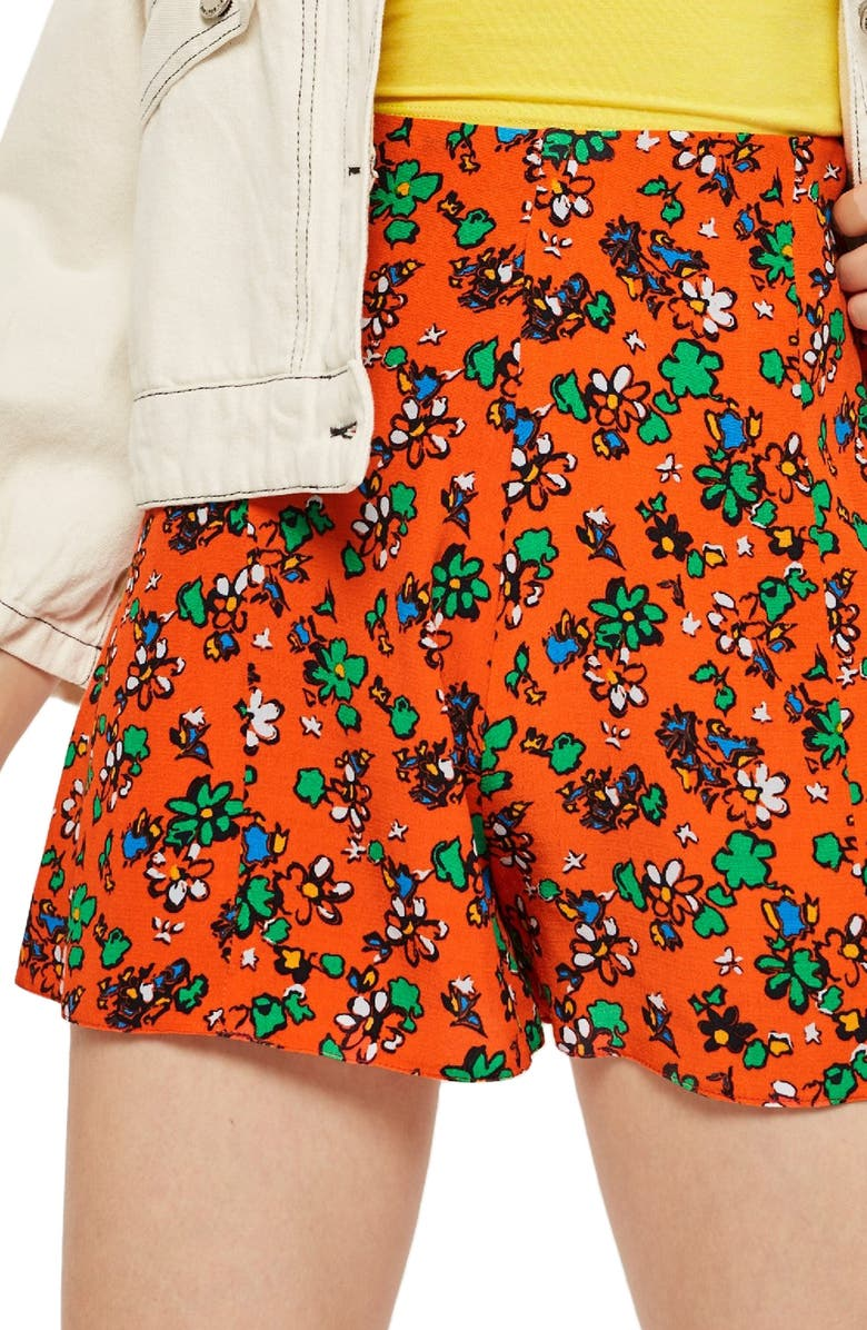 Ditzy Floral Shorts