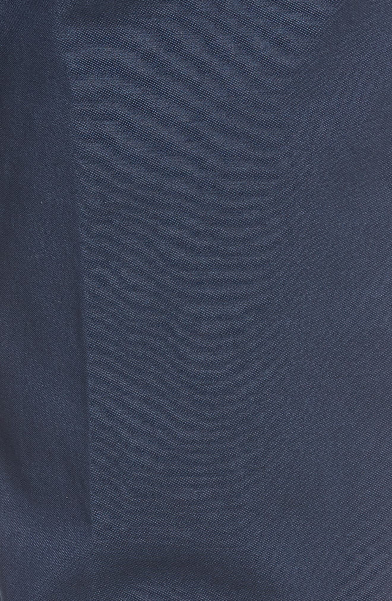 Slim Fit Stretch Twill Pants,                             Alternate thumbnail 3, color,                             Navy
