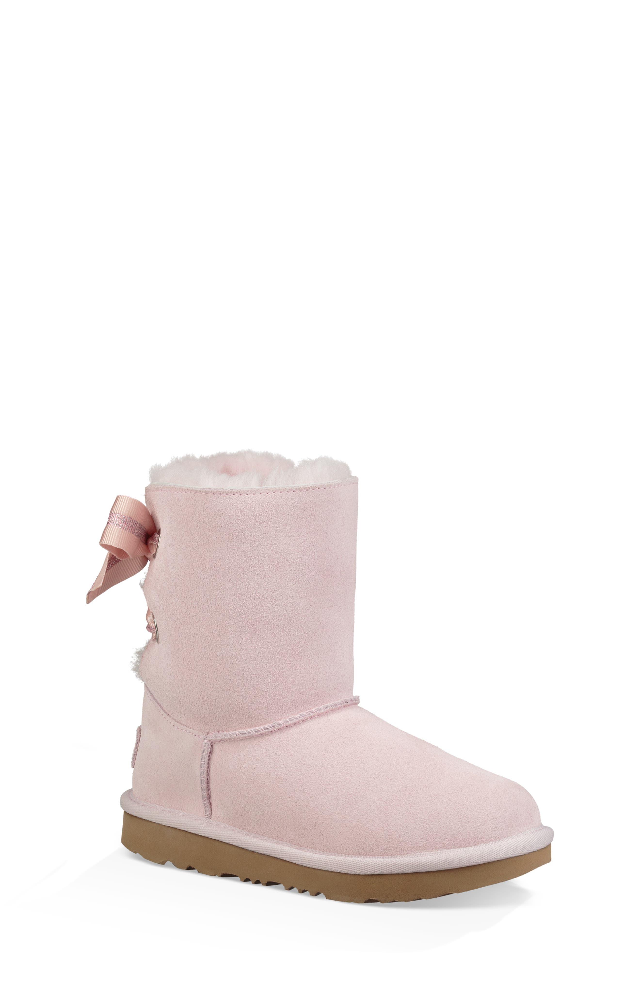 UGG® Customizable Bailey Bow II Genuine Shearling Boot (Little Kid & Big Kid)