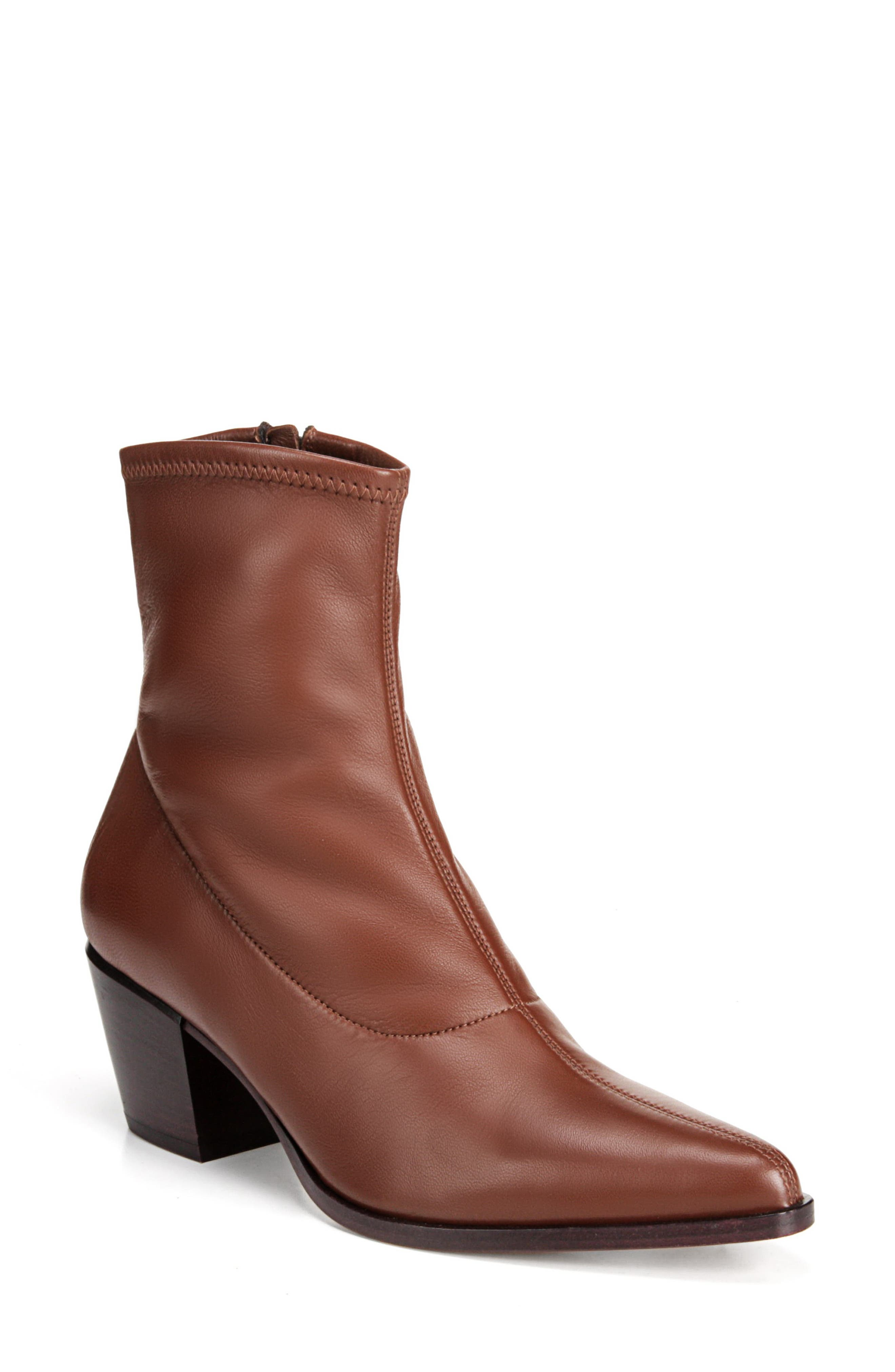 HAYEK STRETCH-LEATHER BOOTIES