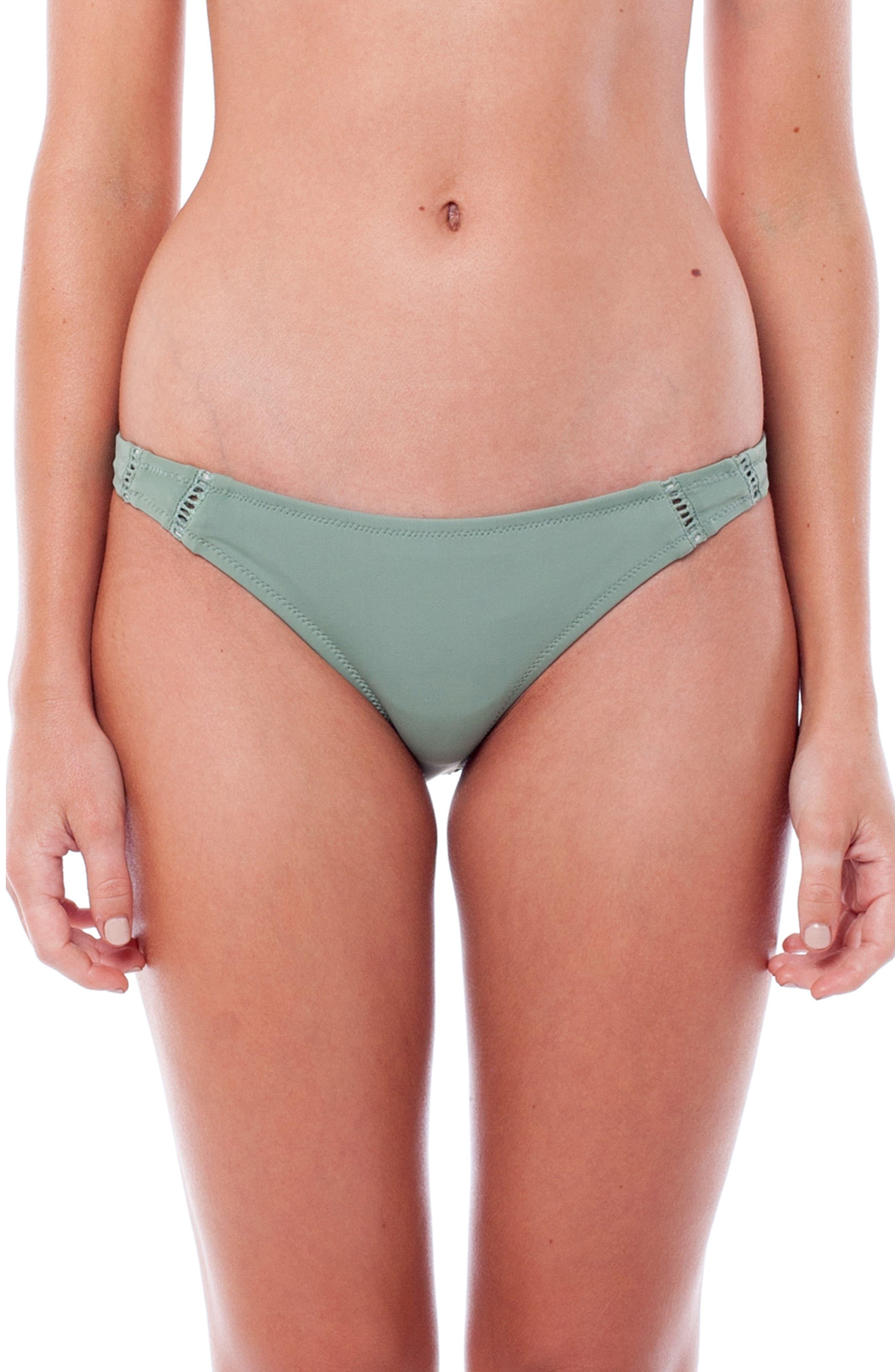 My Cheeky Bikini Bottoms,                             Main thumbnail 1, color,                             Cactus