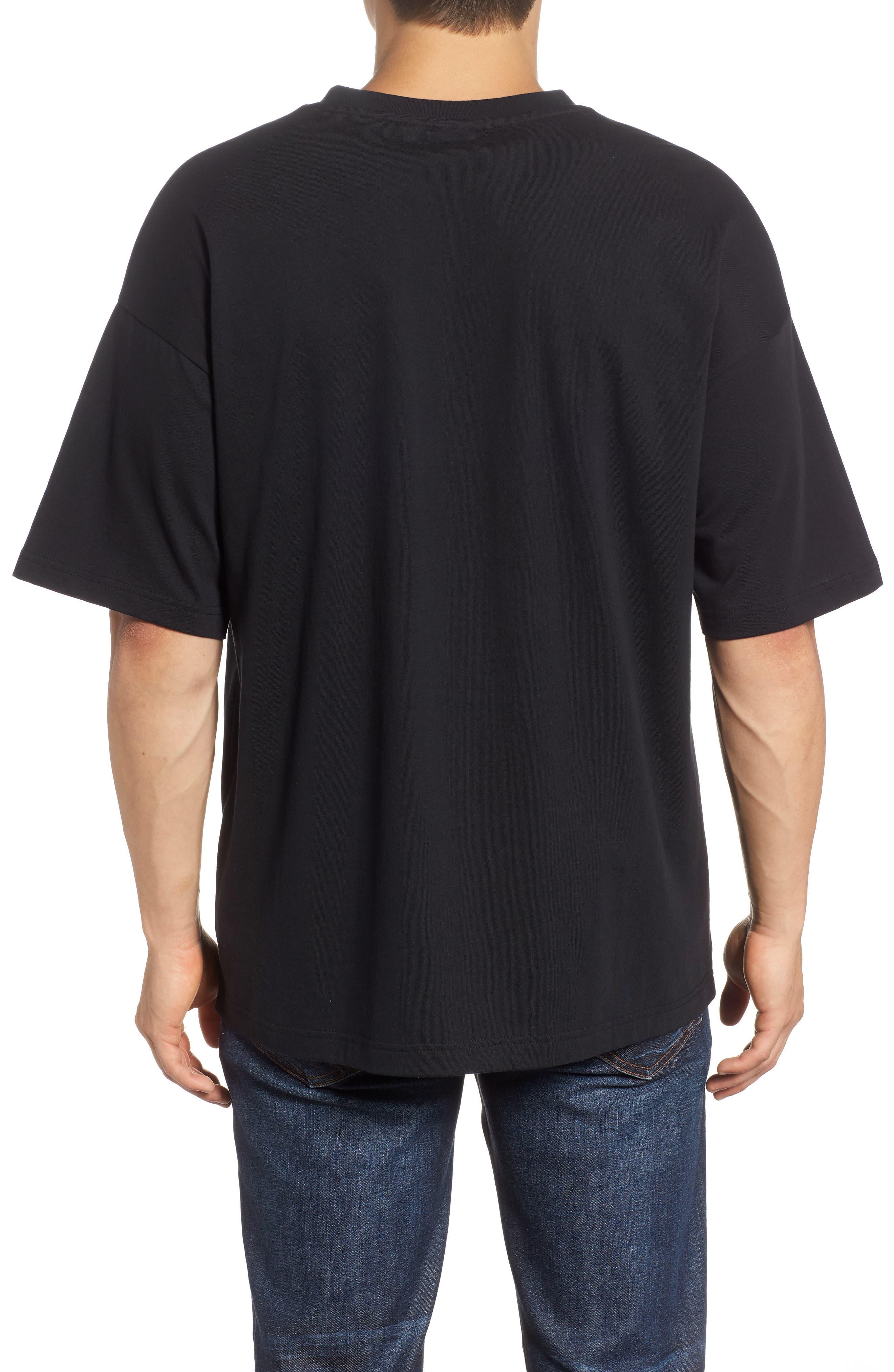 Chains T-Shirt,                             Alternate thumbnail 2, color,                             Puma Black/ Gold