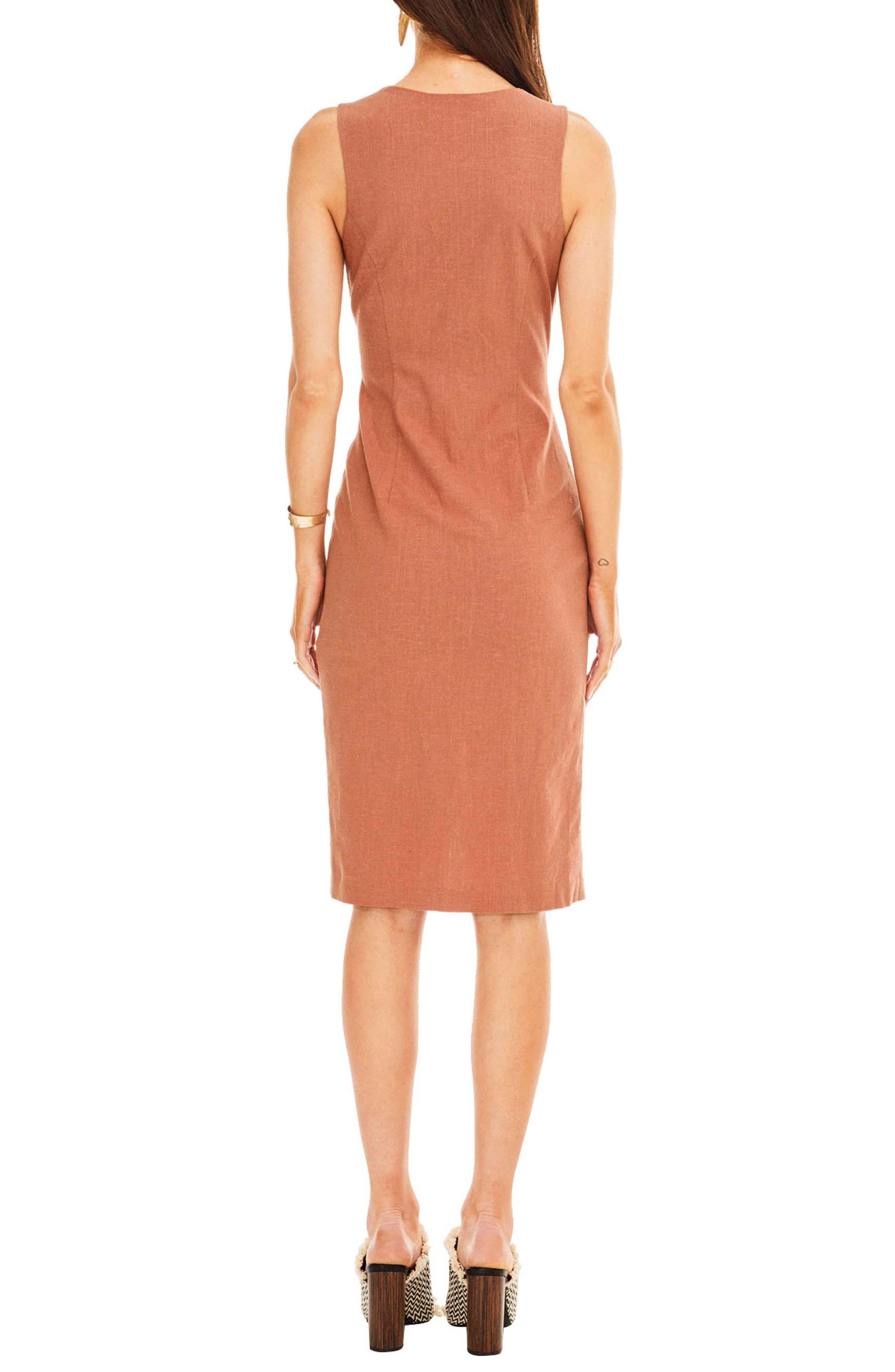 Demi Dress,                             Alternate thumbnail 2, color,                             Mauve