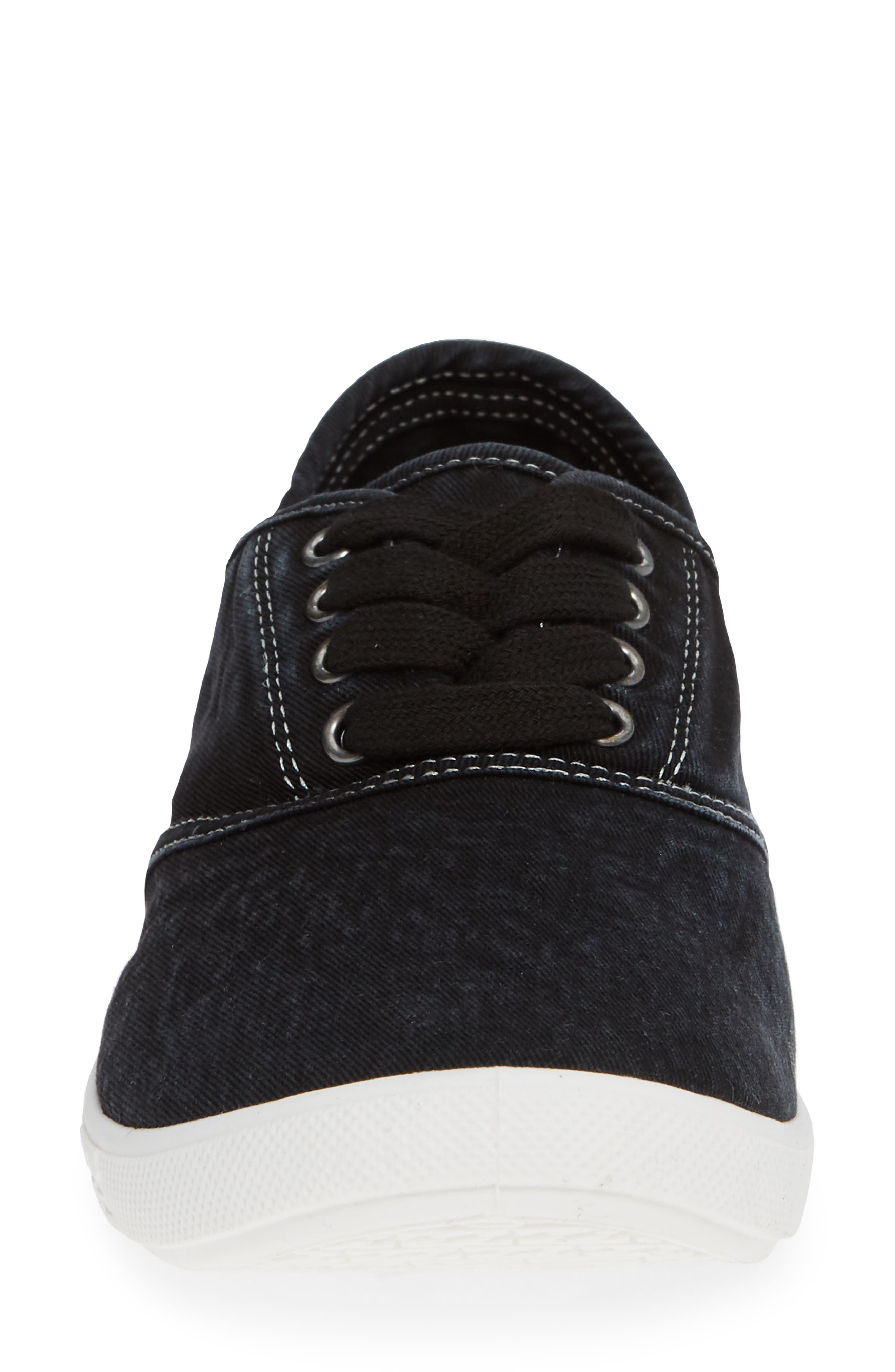 Addy Sneaker,                             Alternate thumbnail 4, color,                             Off Black
