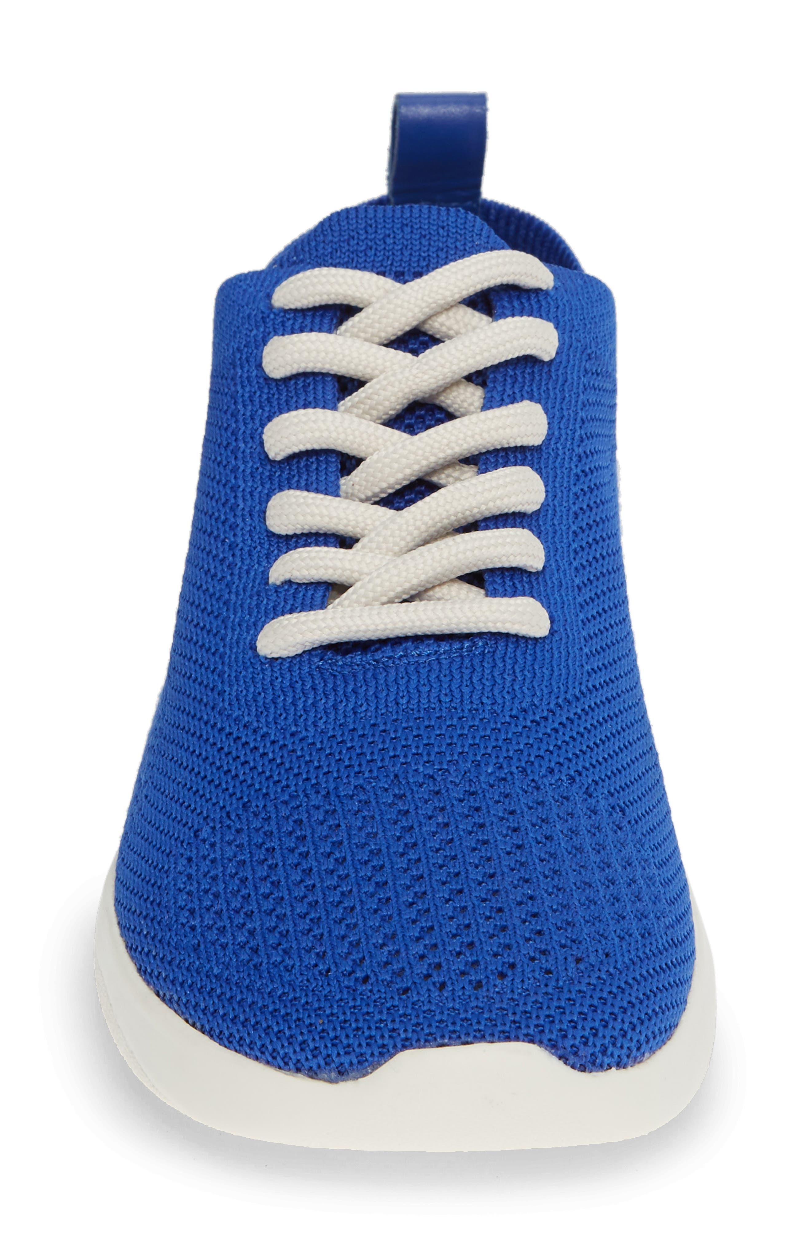 Randee Sneaker,                             Alternate thumbnail 5, color,                             Blue Fabric