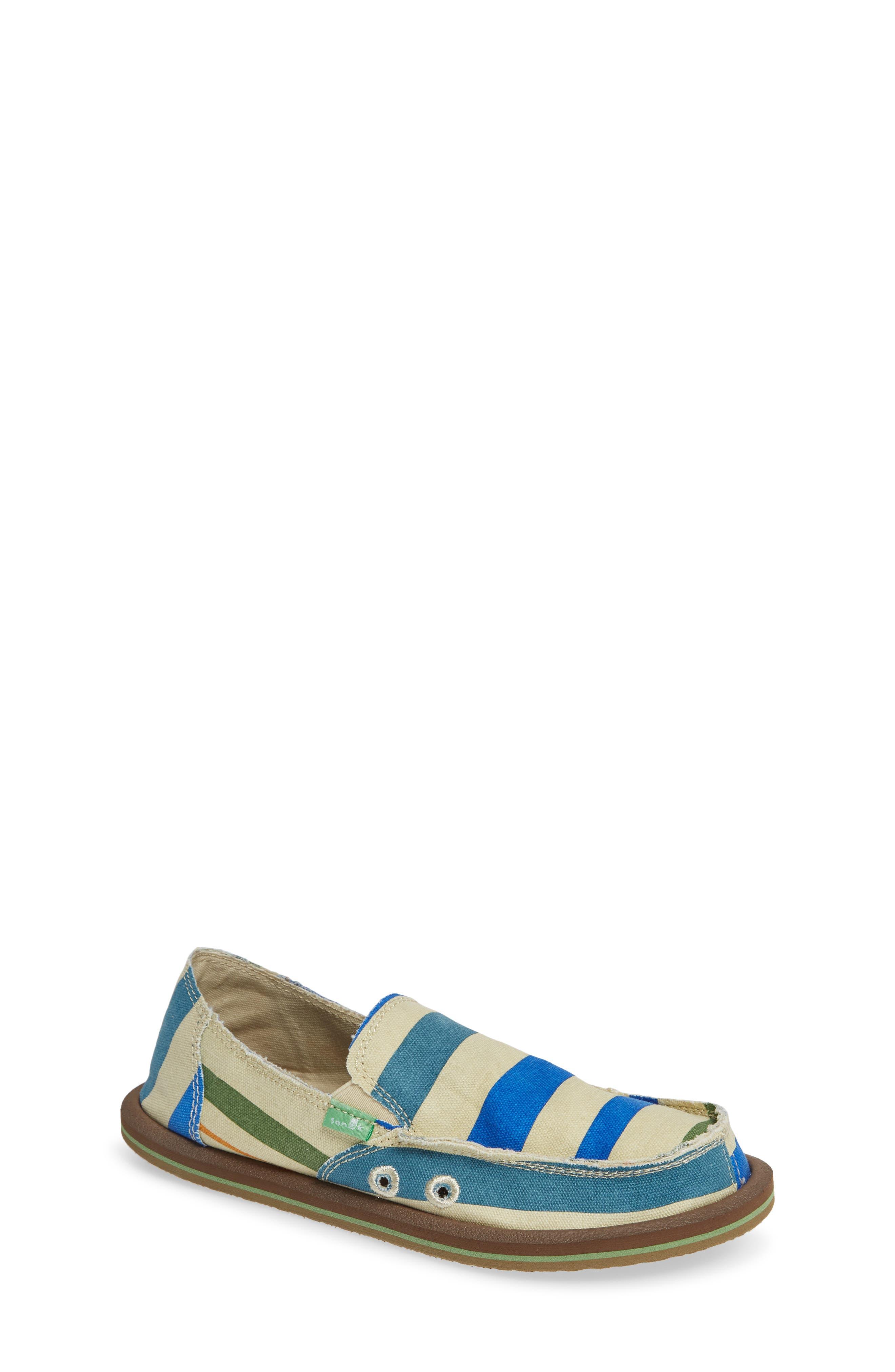 'LilDonny Funk' Slip-On,                         Main,                         color, Baja Stripe