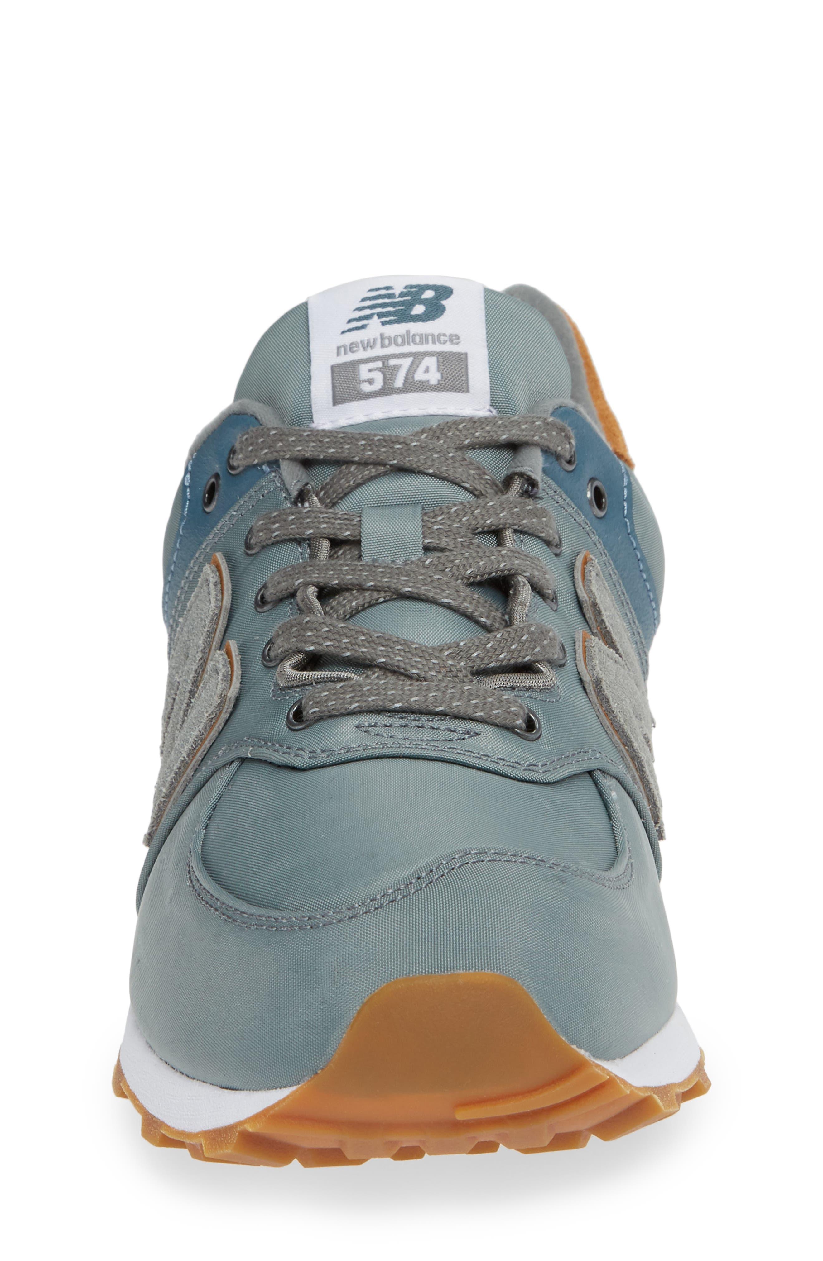 574 Essentials Sneaker,                             Alternate thumbnail 4, color,                             Sedona Sage