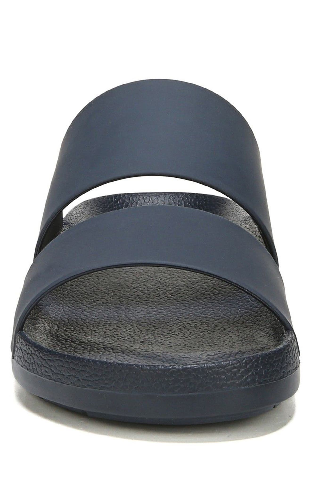 Mariner Slide Sandal,                             Alternate thumbnail 4, color,                             Coastal Blue