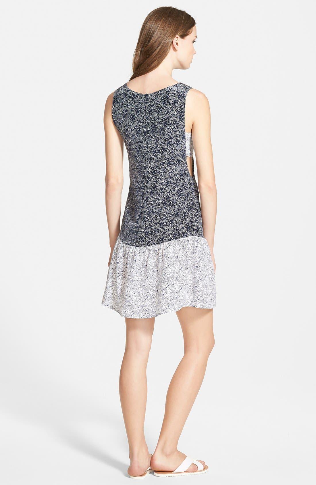 Alternate Image 2  - Amour Vert 'Meryl' Sleeveless Silk Dress