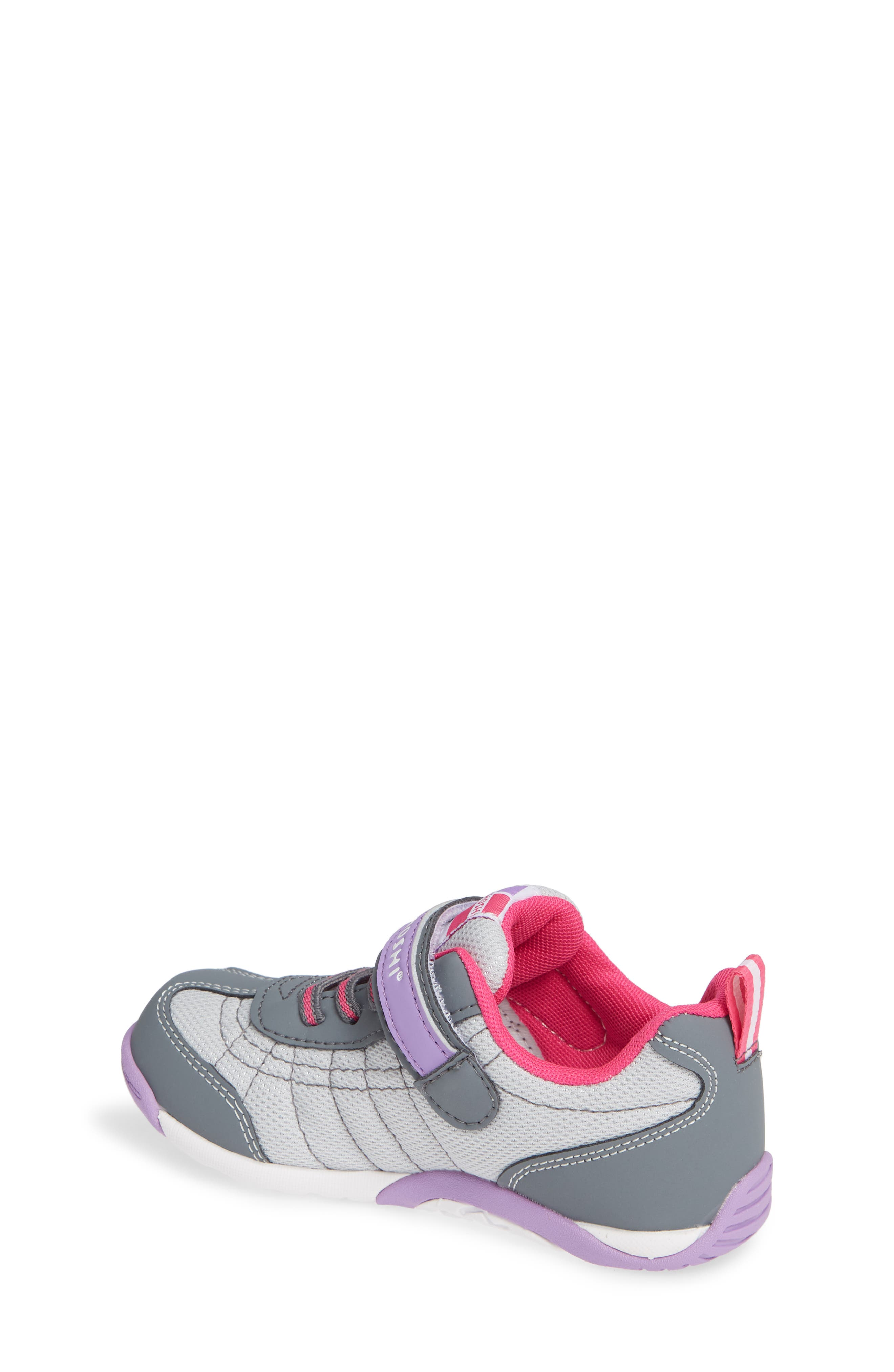 Kaz Washable Sneaker,                             Alternate thumbnail 2, color,                             Gray/ Purple