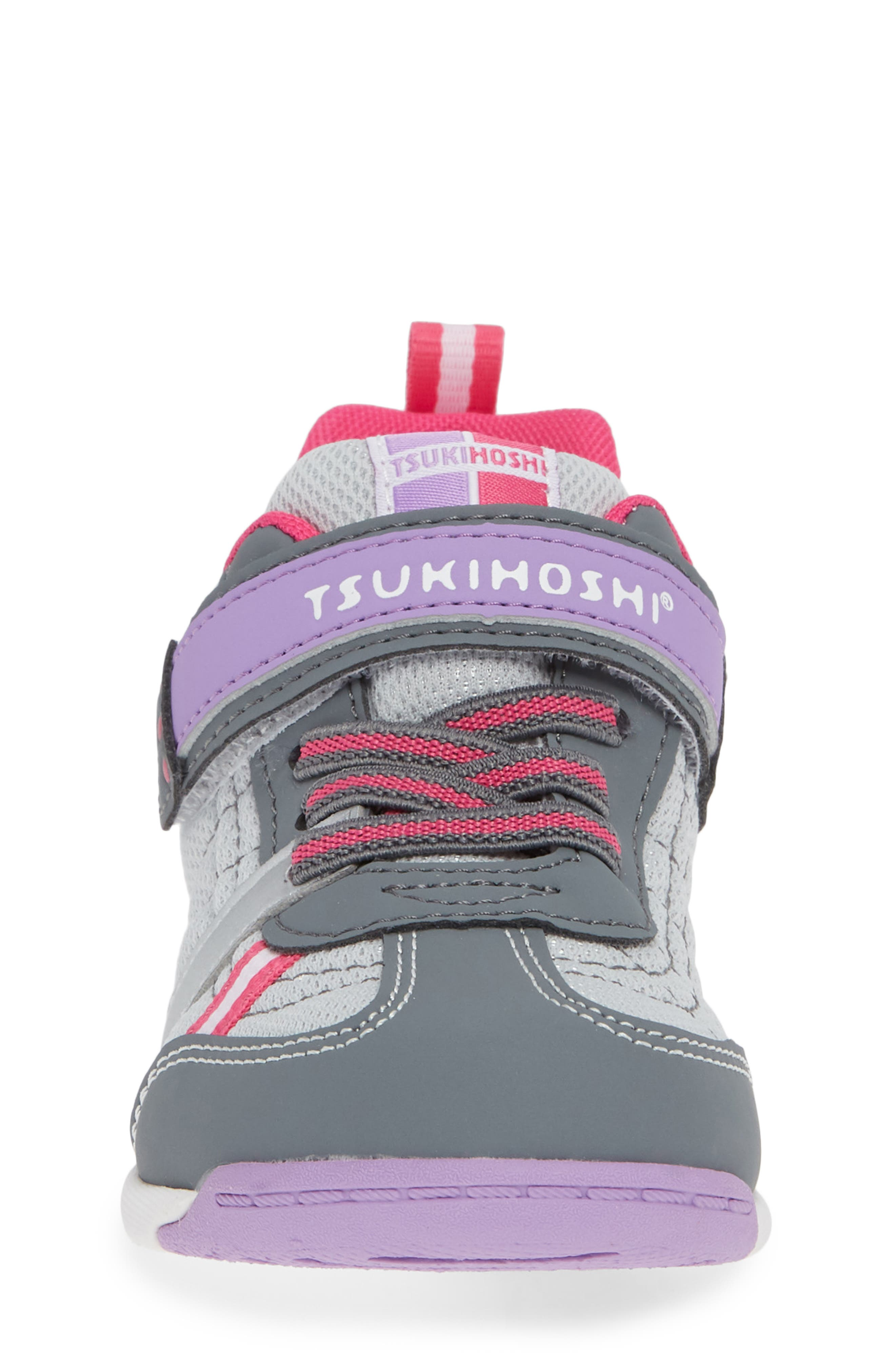 Kaz Washable Sneaker,                             Alternate thumbnail 6, color,                             Gray/ Purple