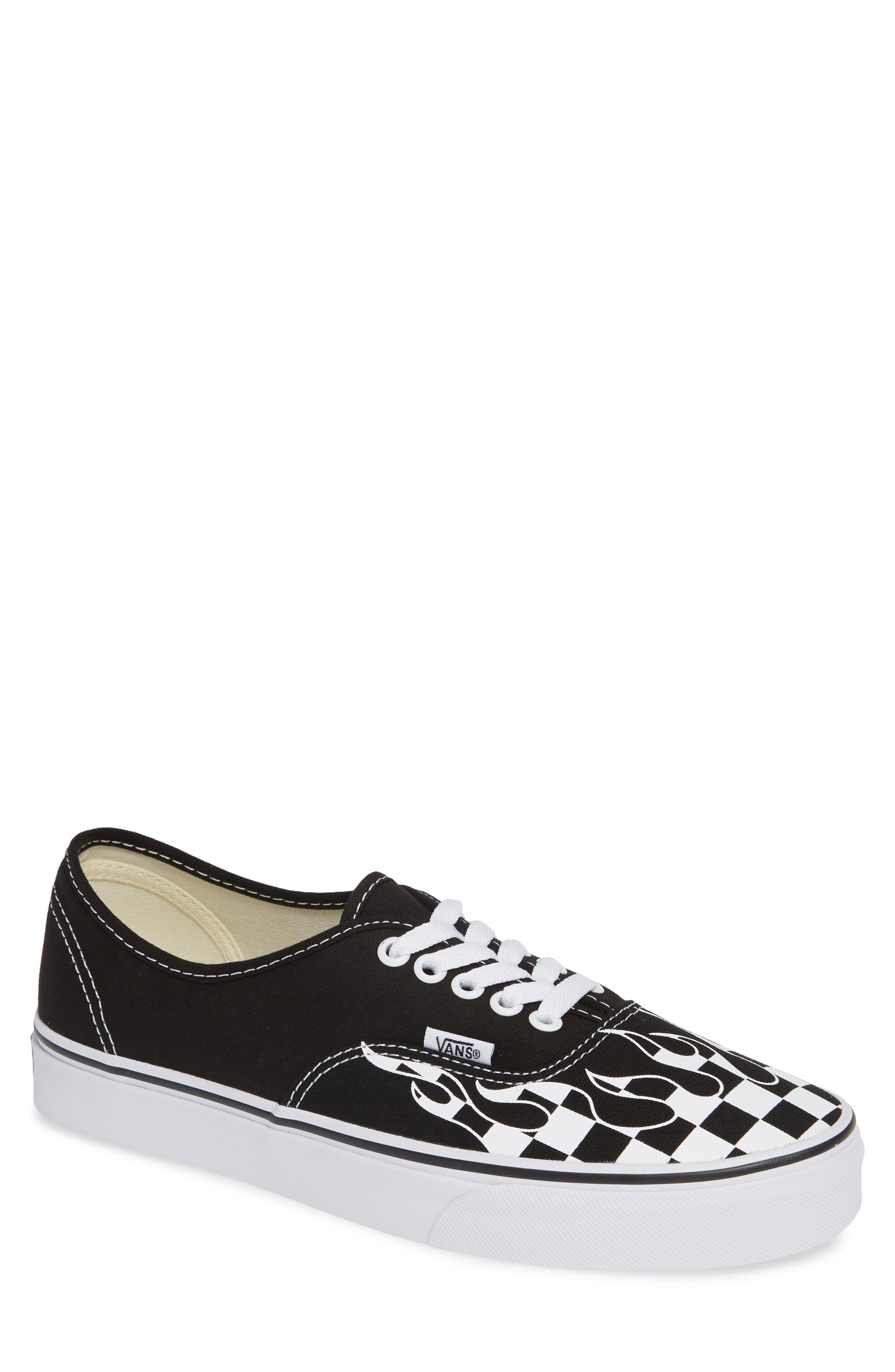 Authentic Sneaker,                         Main,                         color, Black/ True White