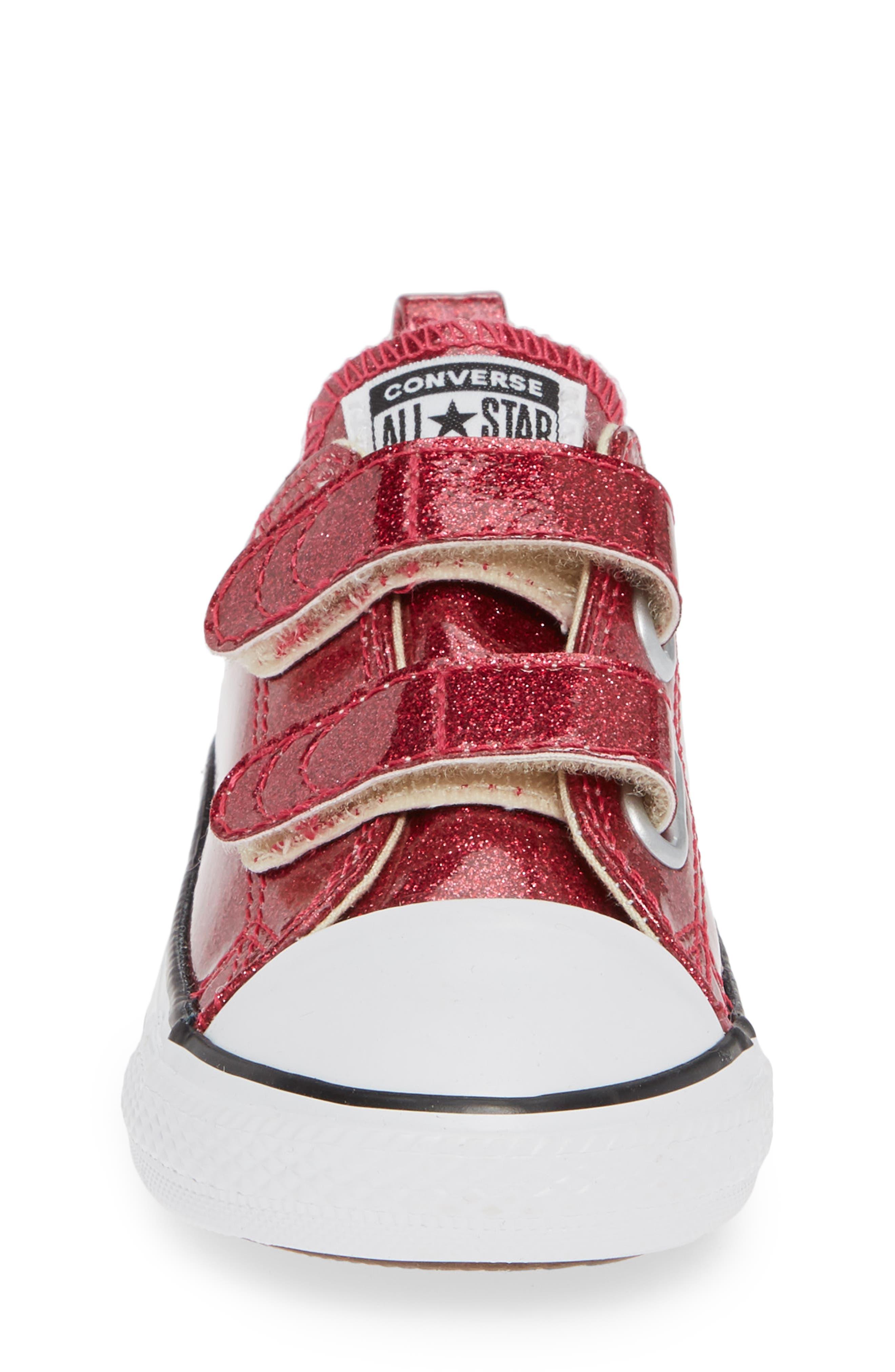 All Star<sup>®</sup> Seasonal Glitter Sneaker,                             Alternate thumbnail 3, color,                             Pink Pop